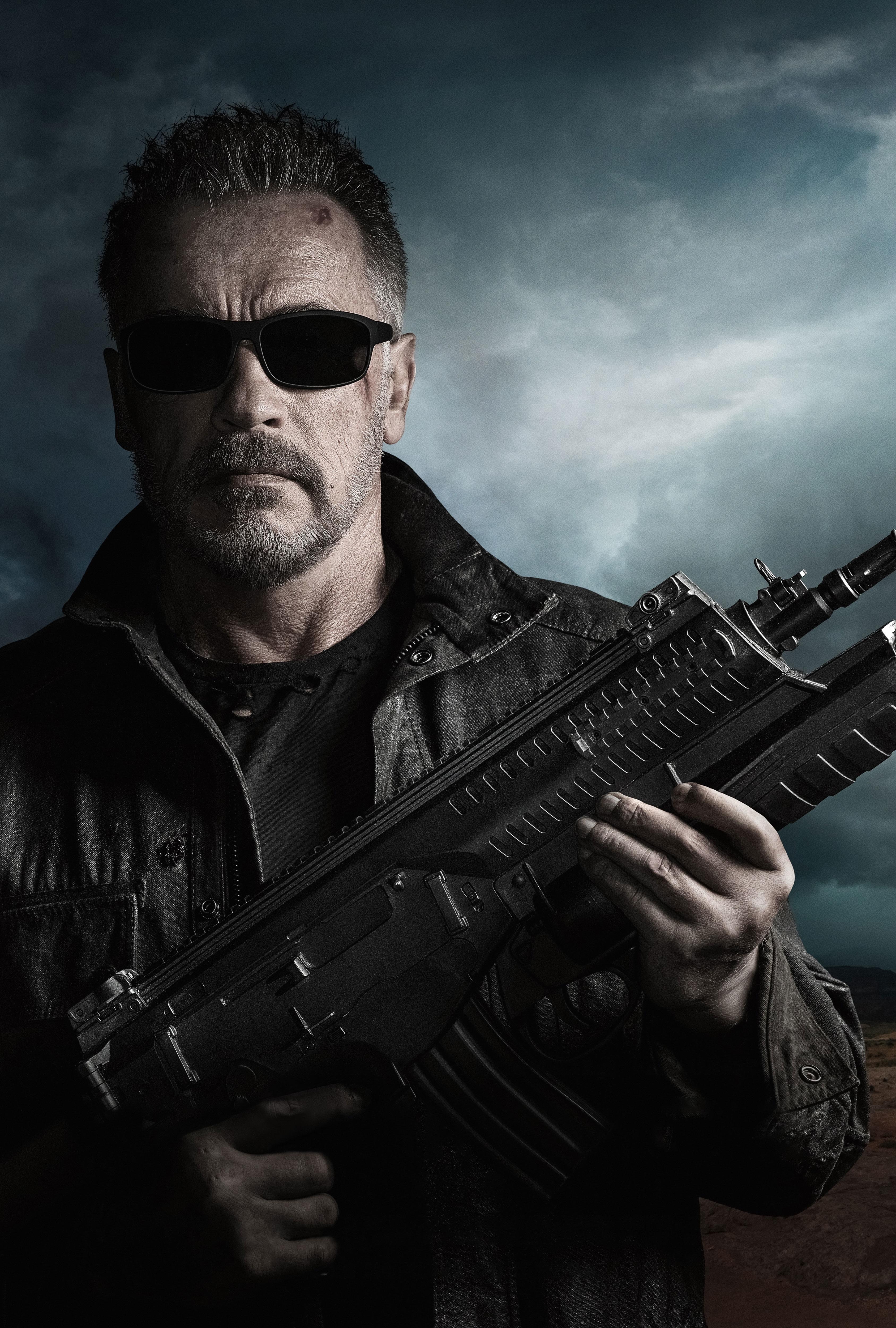 Terminator 6 Movie 4K Wallpaper, HD