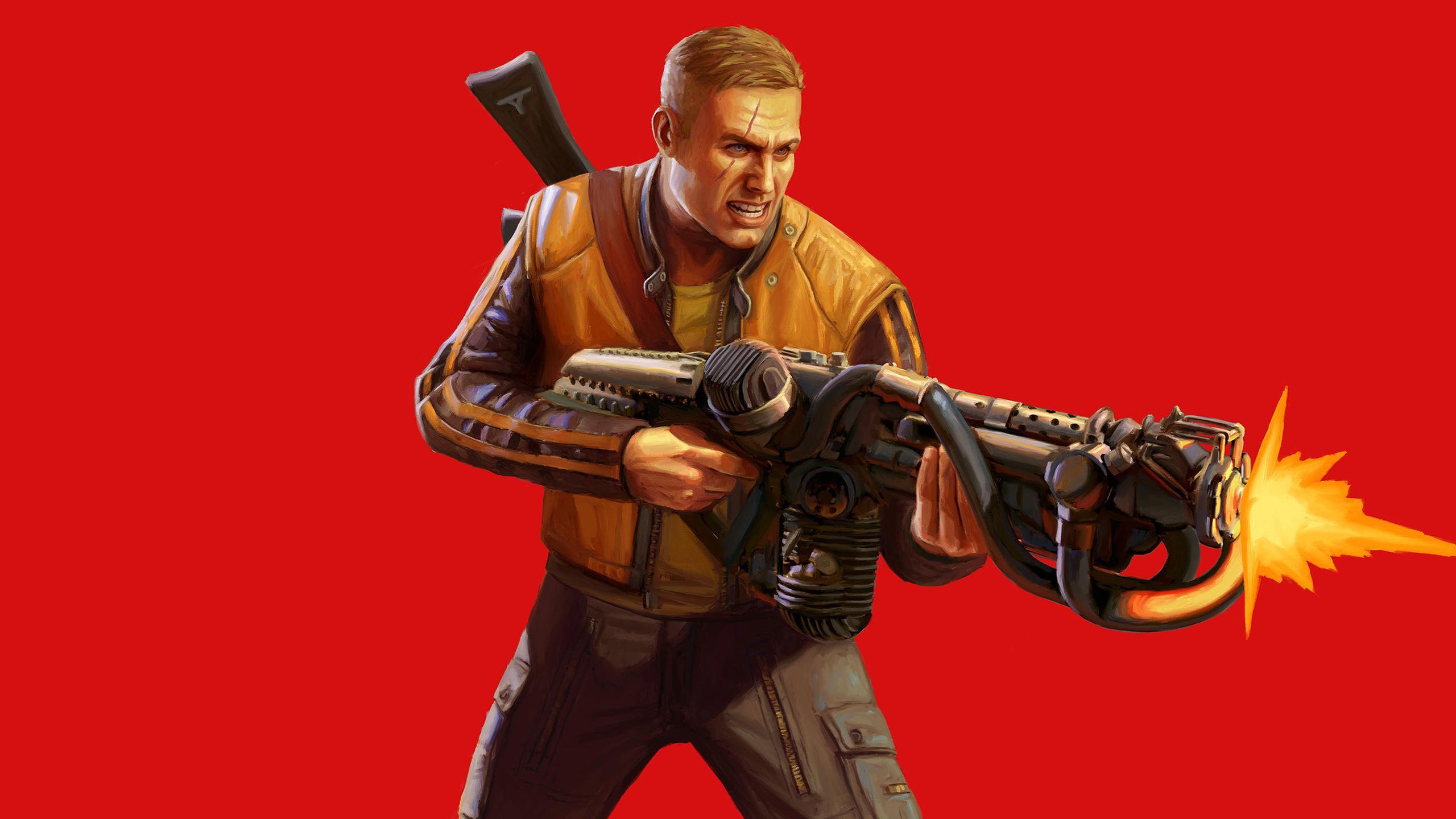 Terror Billy Wolfenstein Ii The New Colossus Wallpaper Hd Games