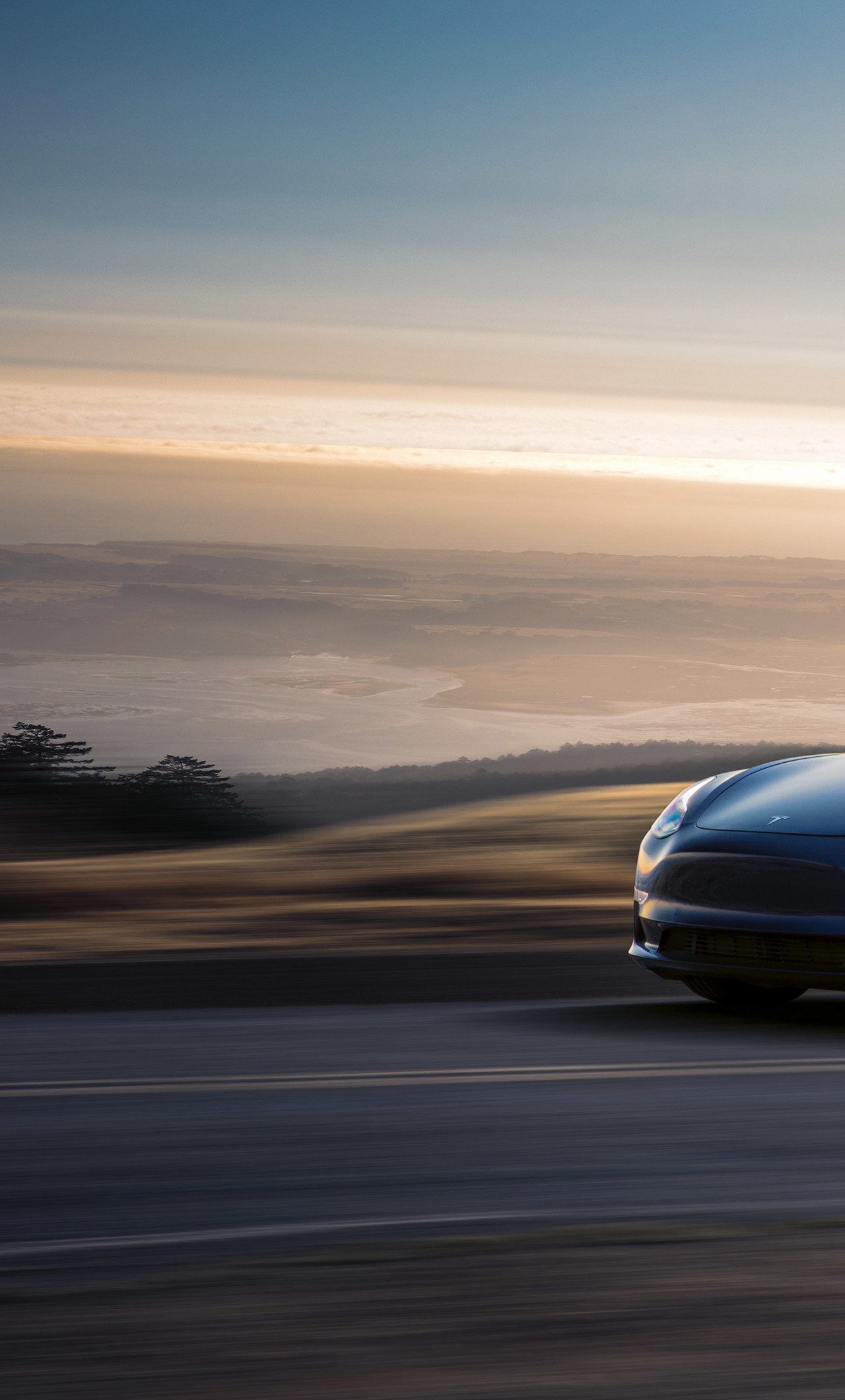 1280x2120 Tesla Model 3 2017 Iphone 6 Plus Wallpaper Hd