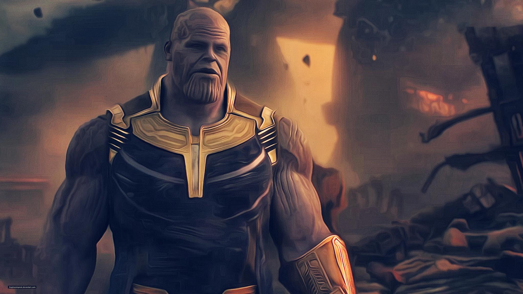 Shuri In Avengers Infinity War New Poster Hd Movies 4k: Thanos Avengers Infinity War Artwork, HD 4K Wallpaper