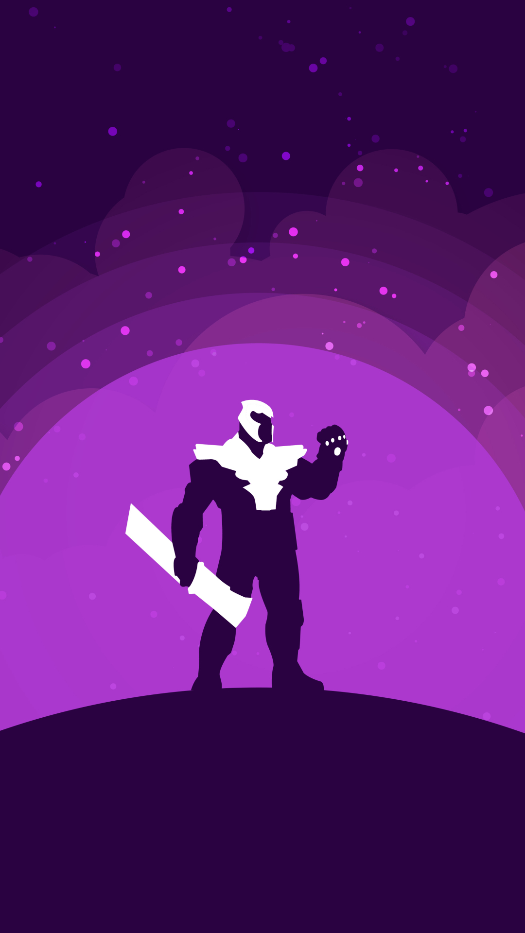 1080x1920 Thanos Endgame Minimalist Iphone 7, 6s, 6 Plus ...