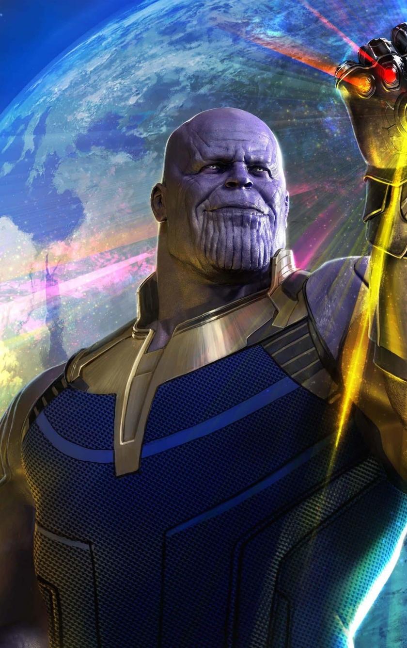 Thanos in avengers infinity war full hd 2k wallpaper - Avengers infinity war wallpaper iphone ...