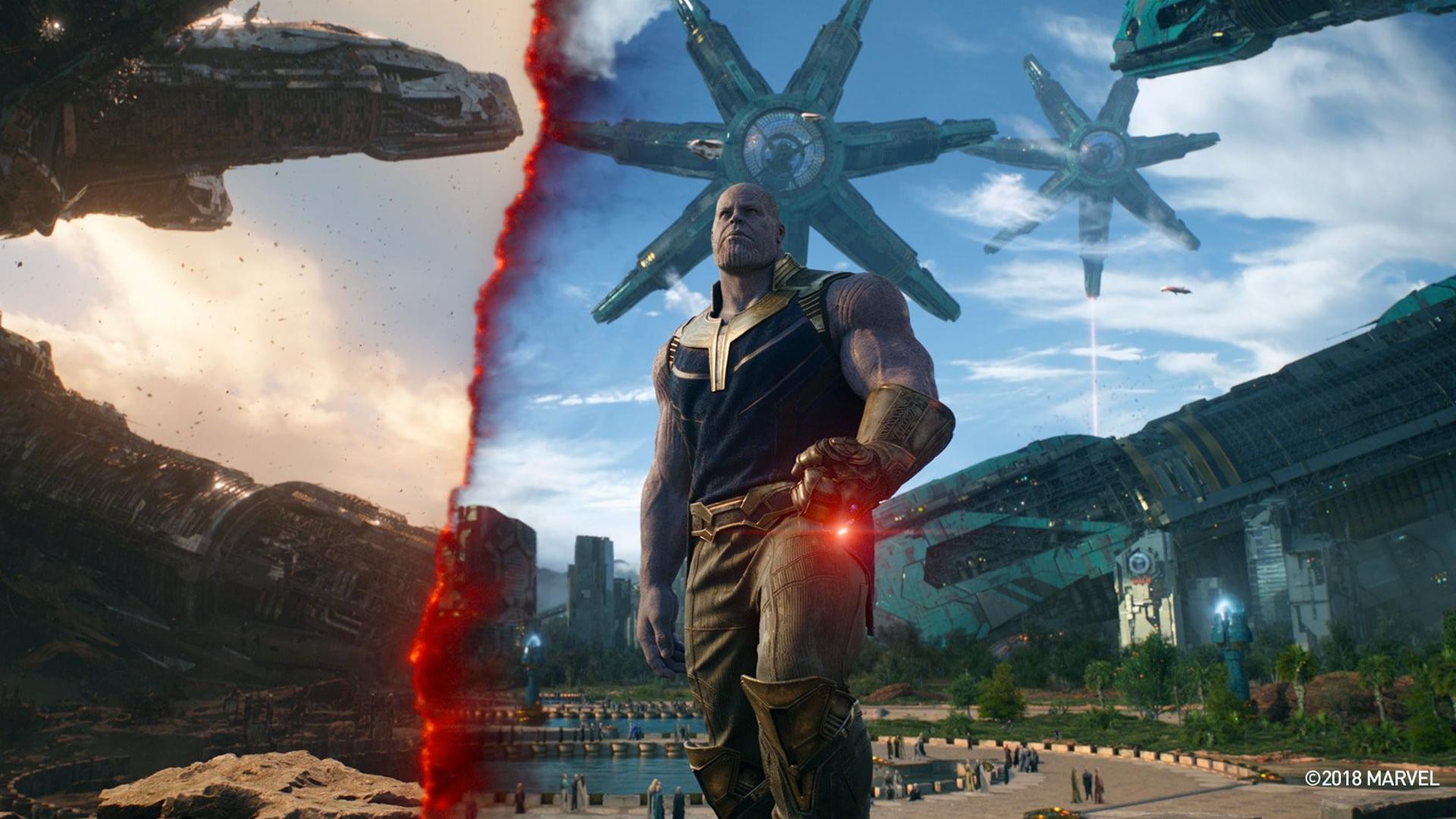 Thanos In Titan Avengers Infinity War, Full HD Wallpaper