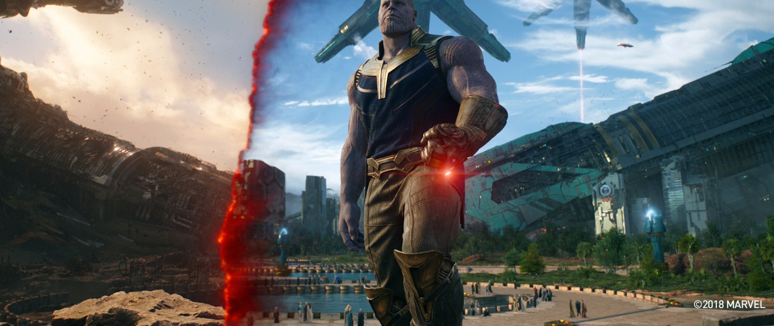 Thanos In Titan Avengers Infinity War, Full HD Wallpaper