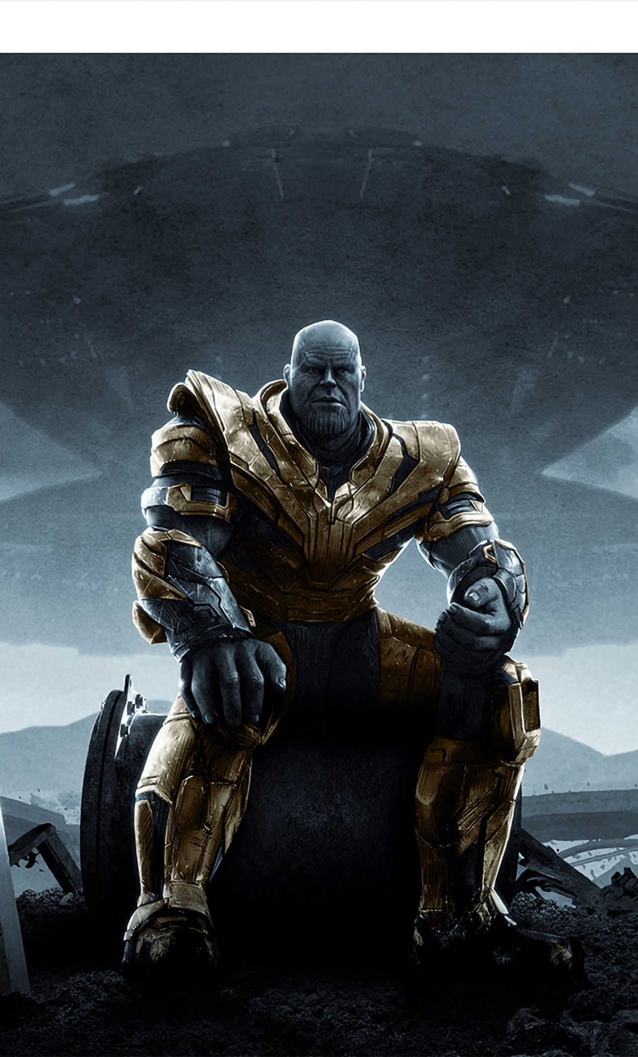 1280x2120 Thanos Sitting In Avengers ...