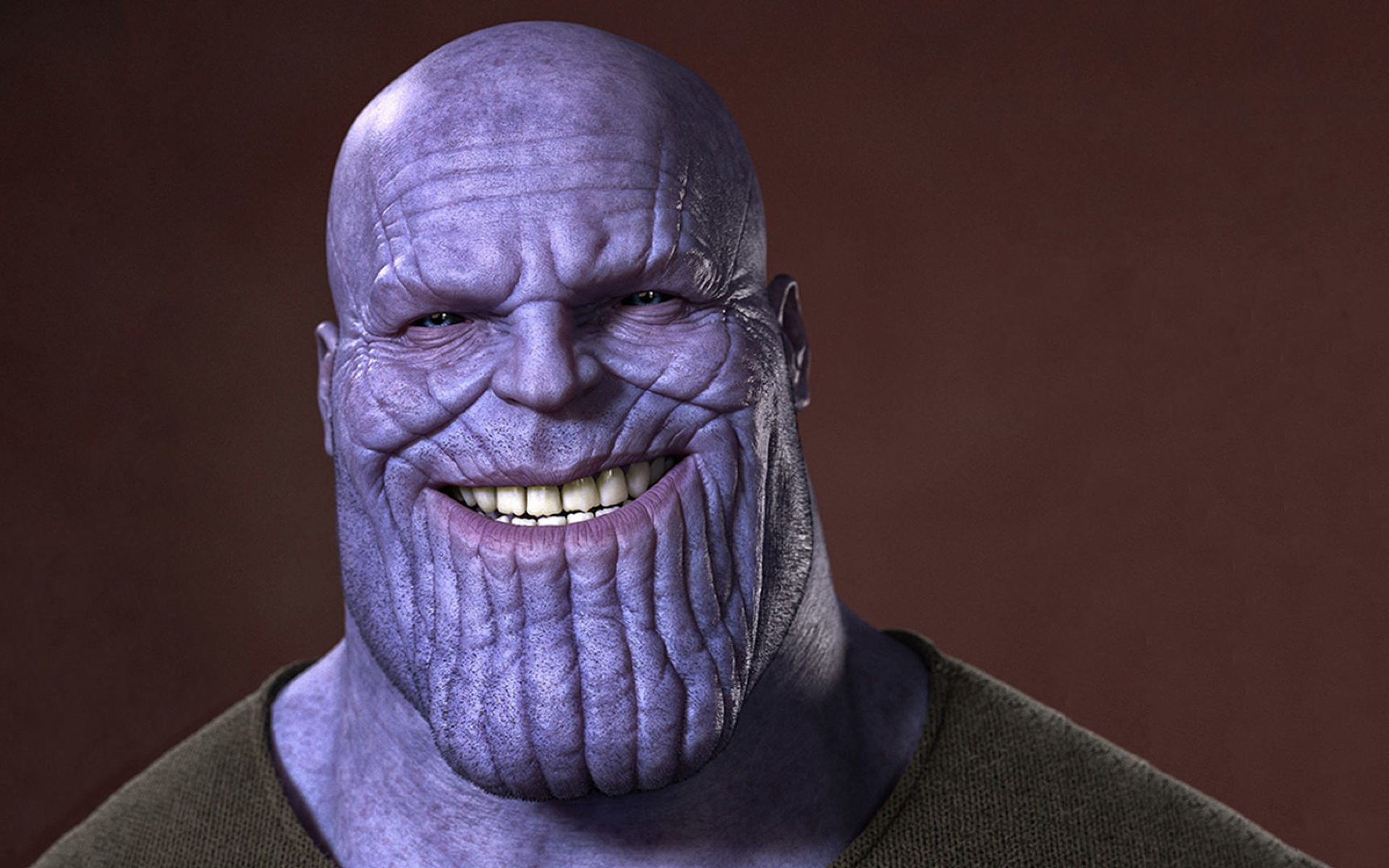 Xperia Wallpaper 1920x1080 Thanos Smiling, Full H...