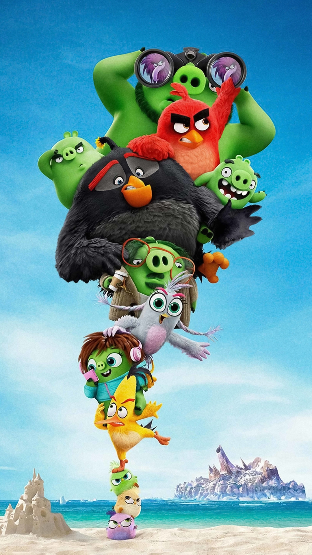 1080x1920 The Angry Birds 2 Iphone 7, 6s, 6 Plus and Pixel ...