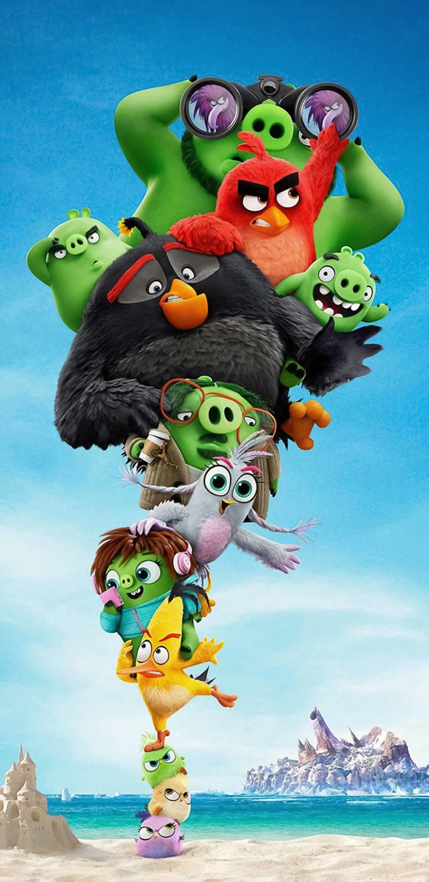 1440x2960 The Angry Birds 2 Samsung Galaxy Note 9 8 S9 S8 S8 Qhd Wallpaper Hd Movies 4k Wallpapers Images Photos And Background