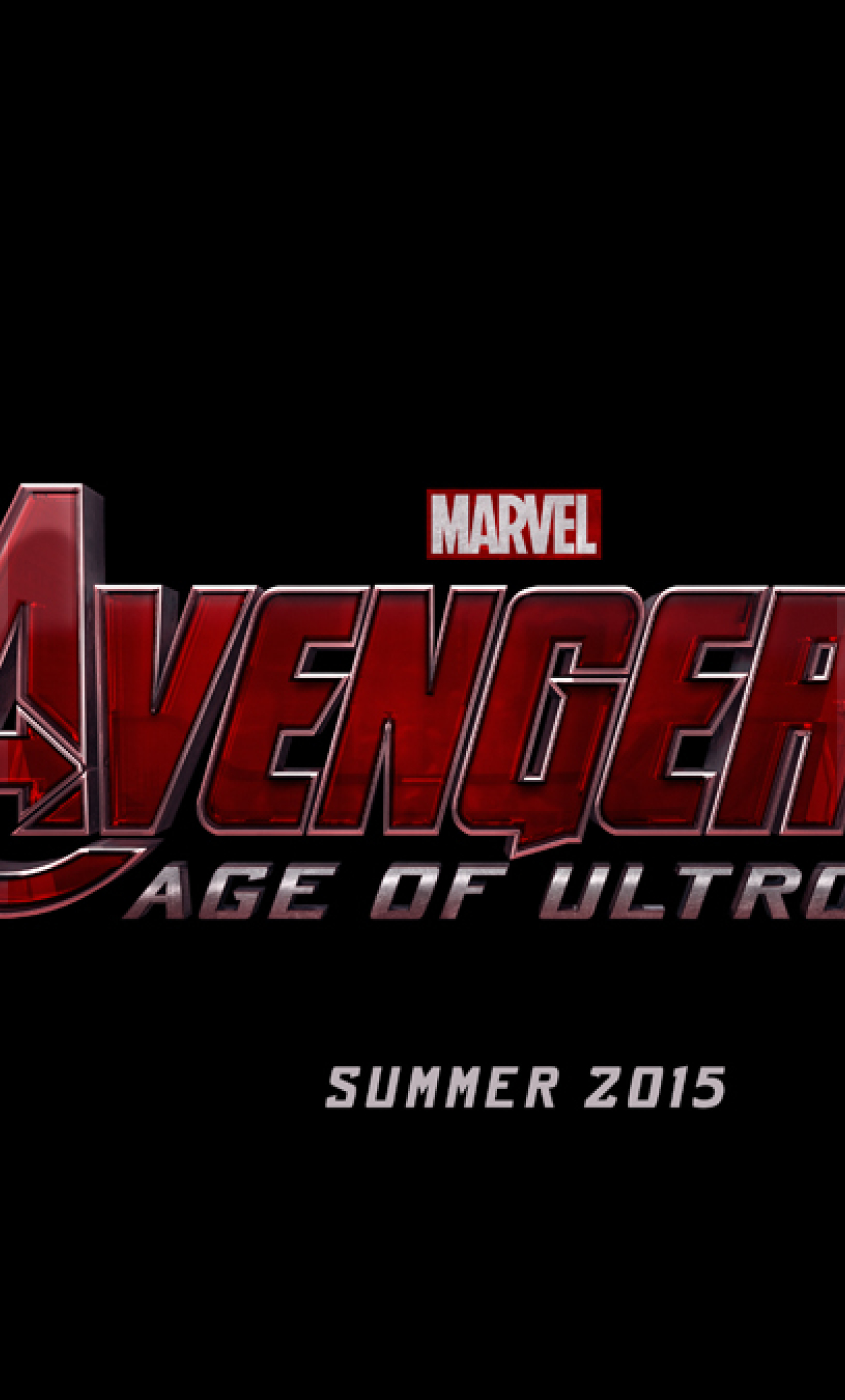 The Avengers 2 Age Of Ultron Logo HD Wallpaper