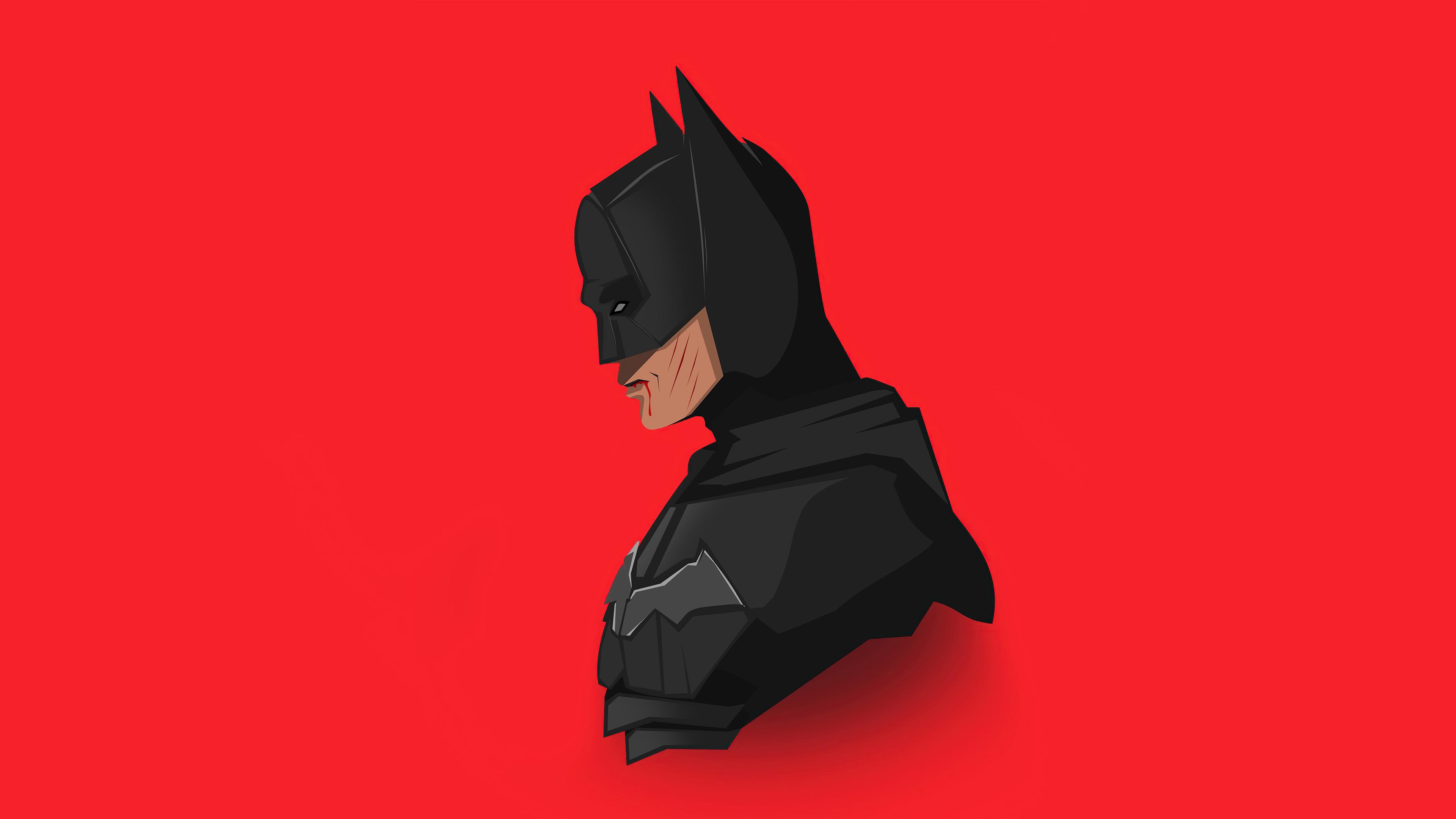 The Batman 2021 4k Minimalism Wallpaper, HD Minimalist 4K ...