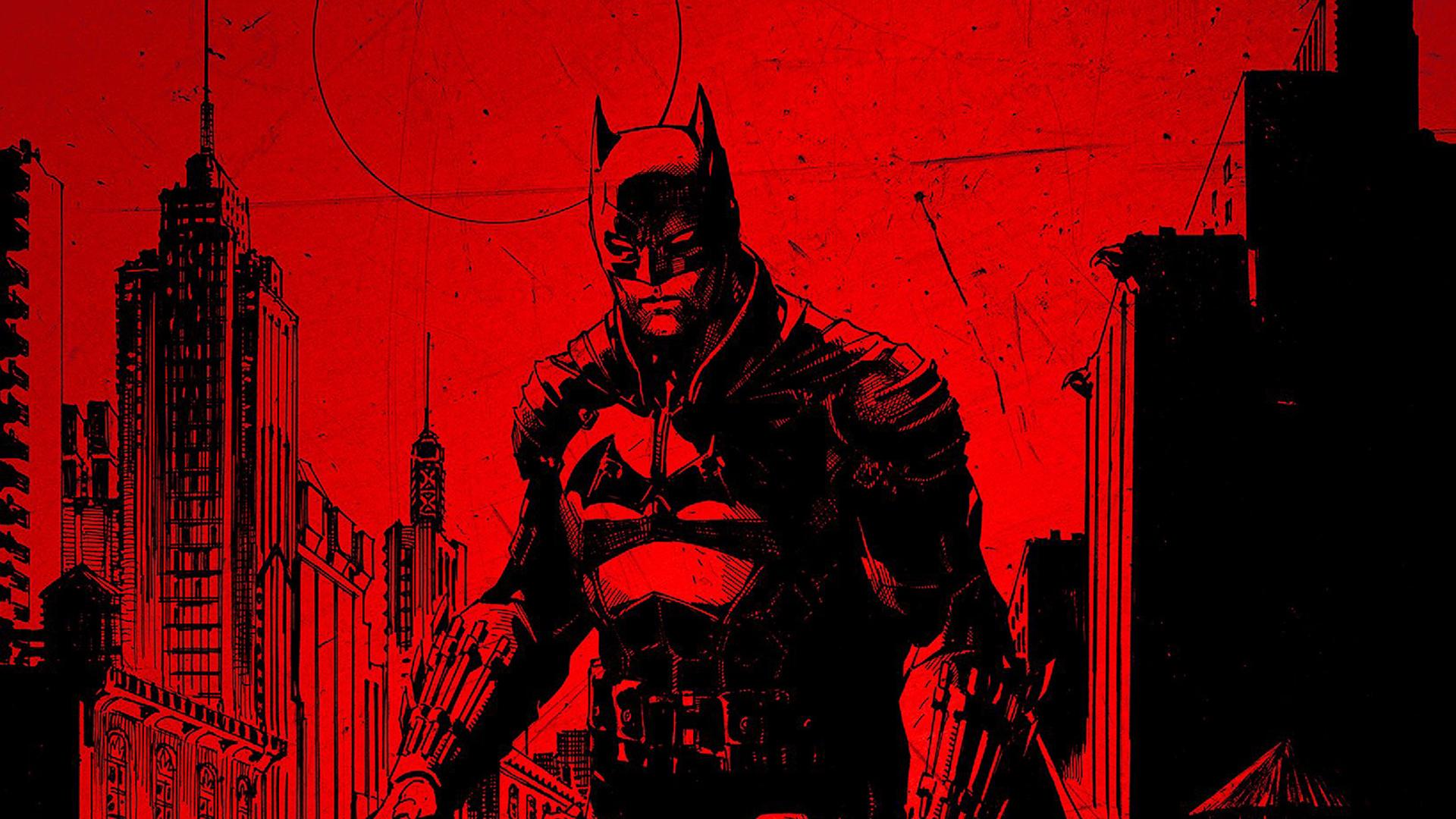 1920x1080 The Batman Official Poster 1080P Laptop Full HD ...