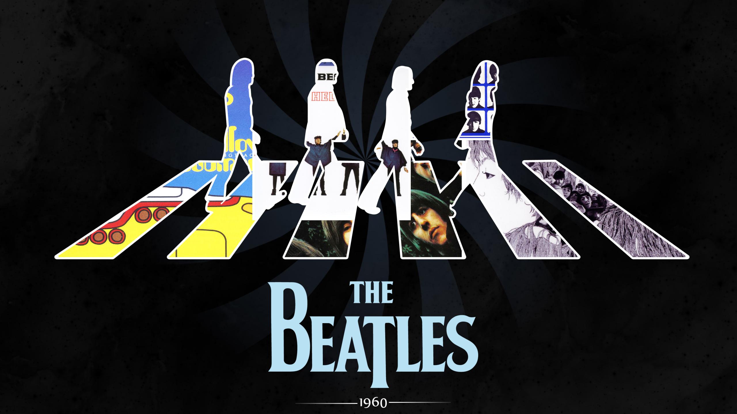 2560x1440 The Beatles 1440P Resolution Wallpaper, HD Music ...
