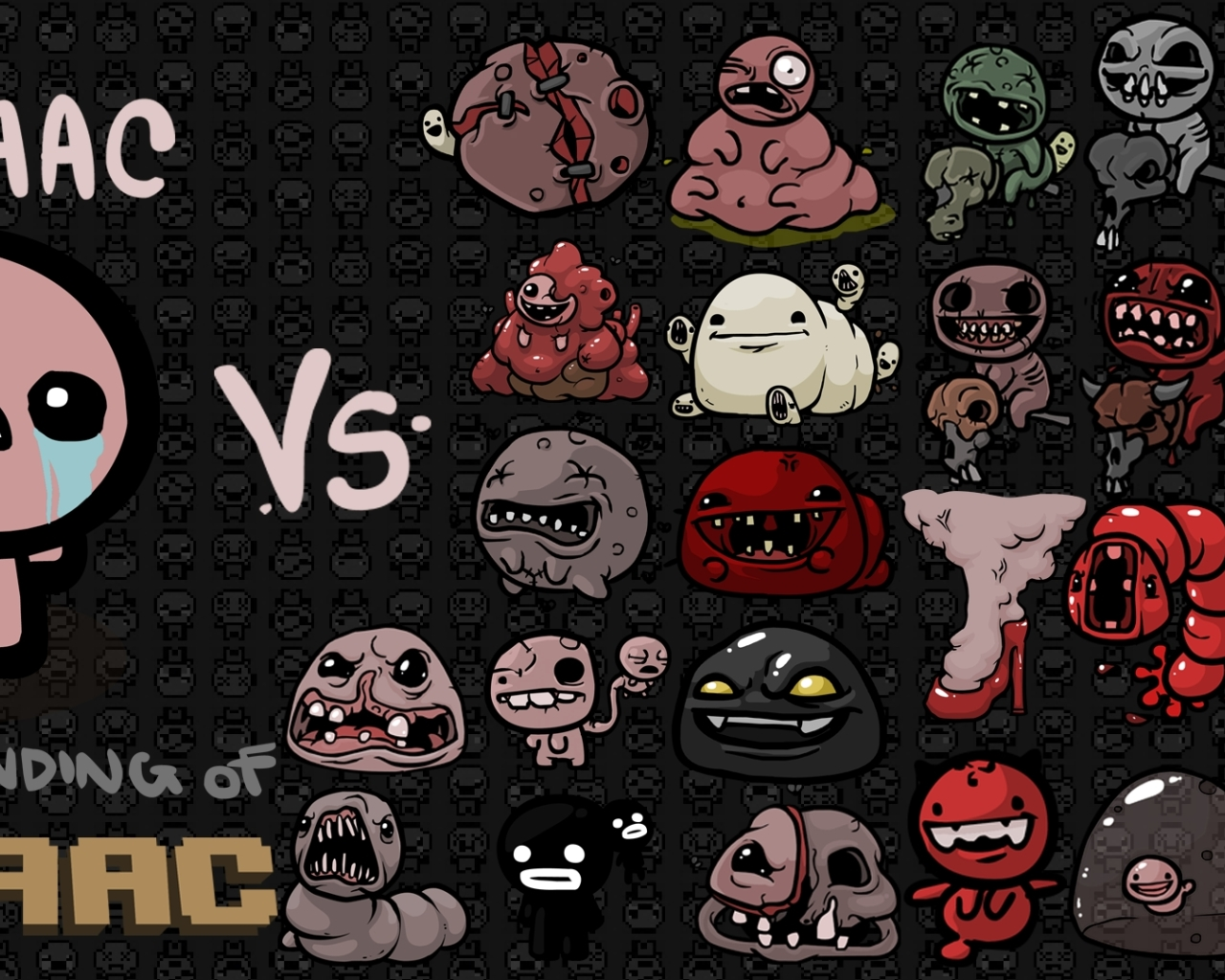 1280x1024 The Binding Of Isaac Characters Tears 1280x1024