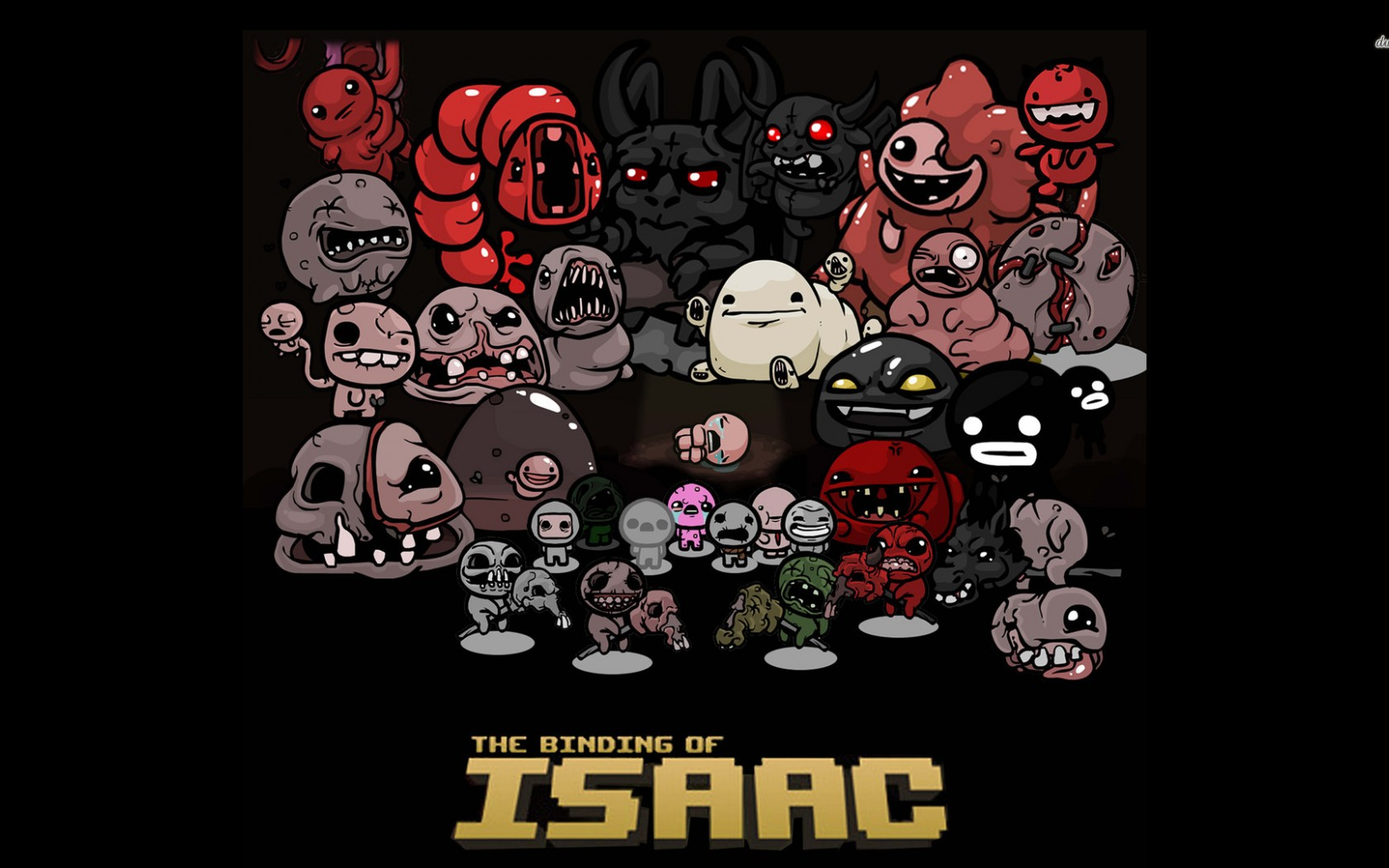 The Binding Of Isaac Indie Game Wallpaper Hd Games 4k