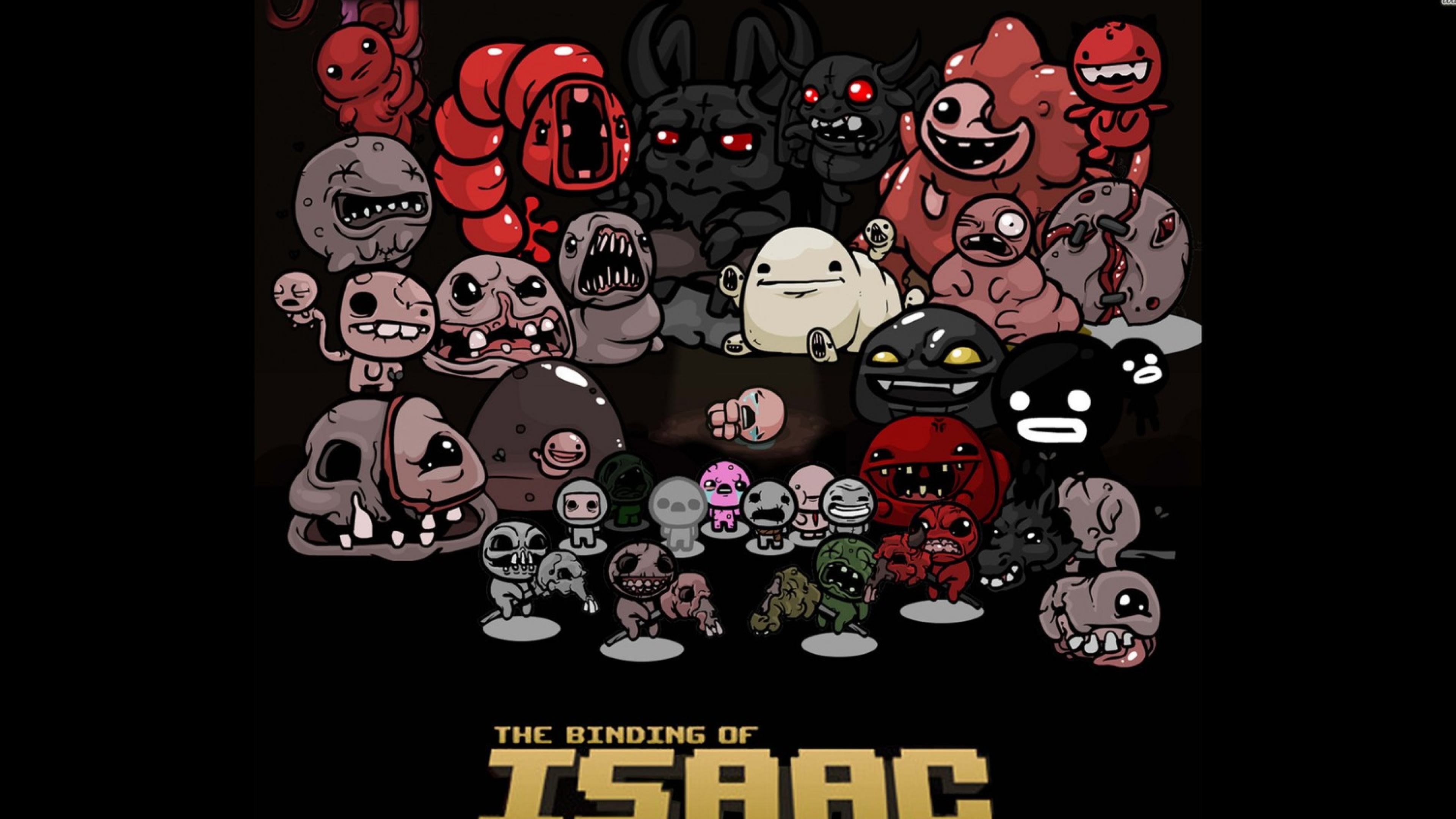 3840x2160 The Binding Of Isaac Indie Game 4k Wallpaper Hd Games