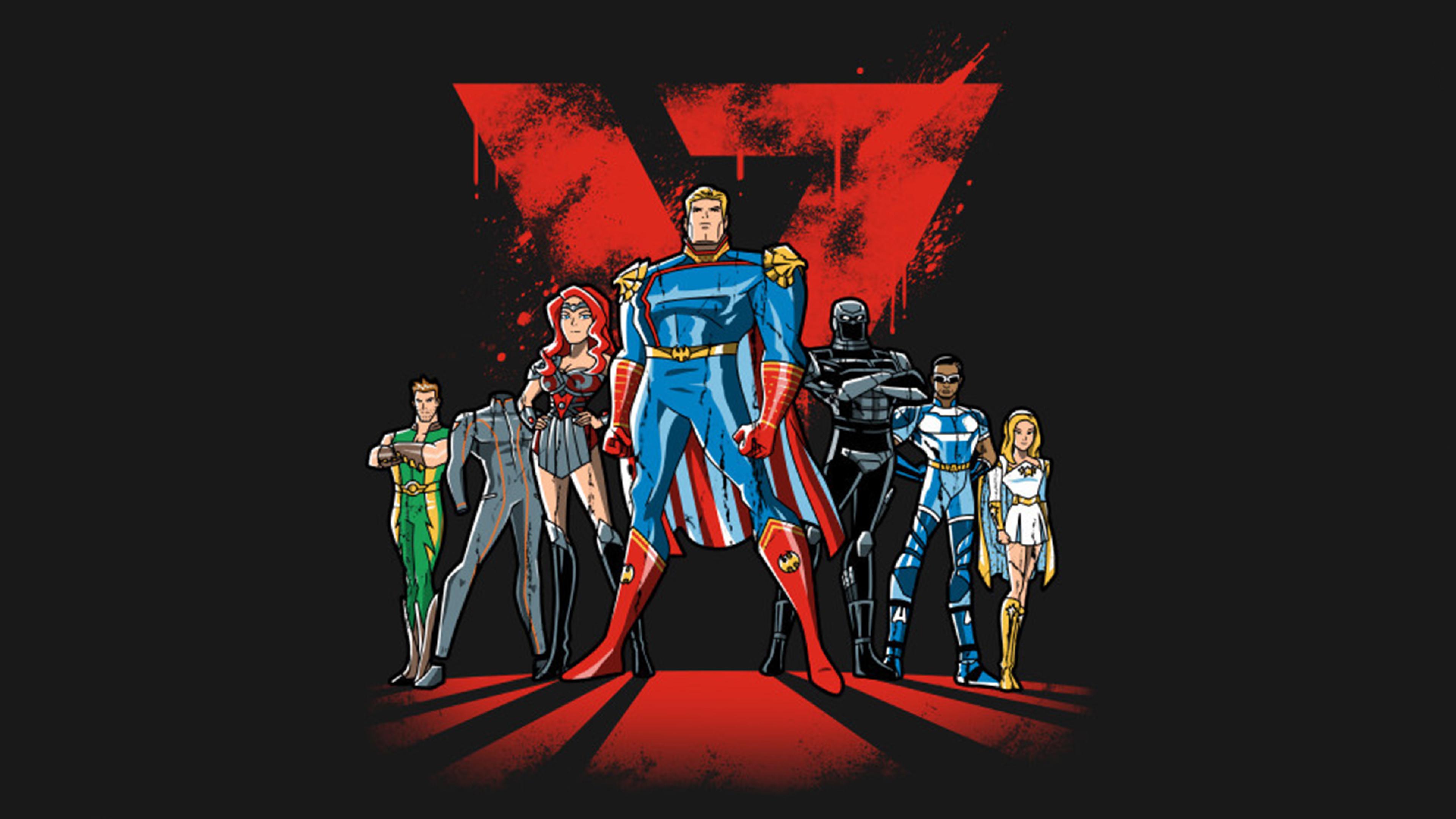 3840x2160 The Boys Superheroes 4K Wallpaper, HD ...