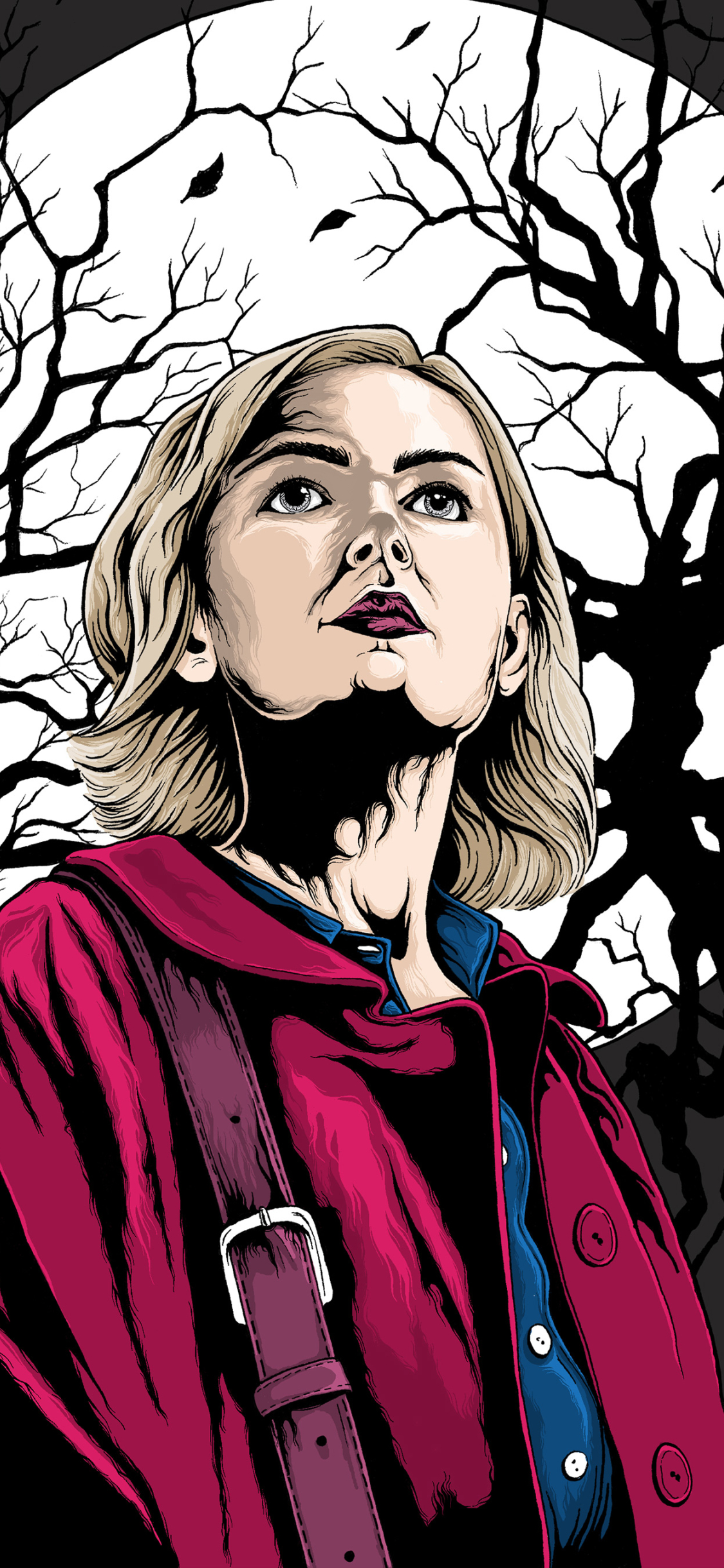 1125x2436 The Chilling Adventures Of Sabrina 2018 Artwork 4k