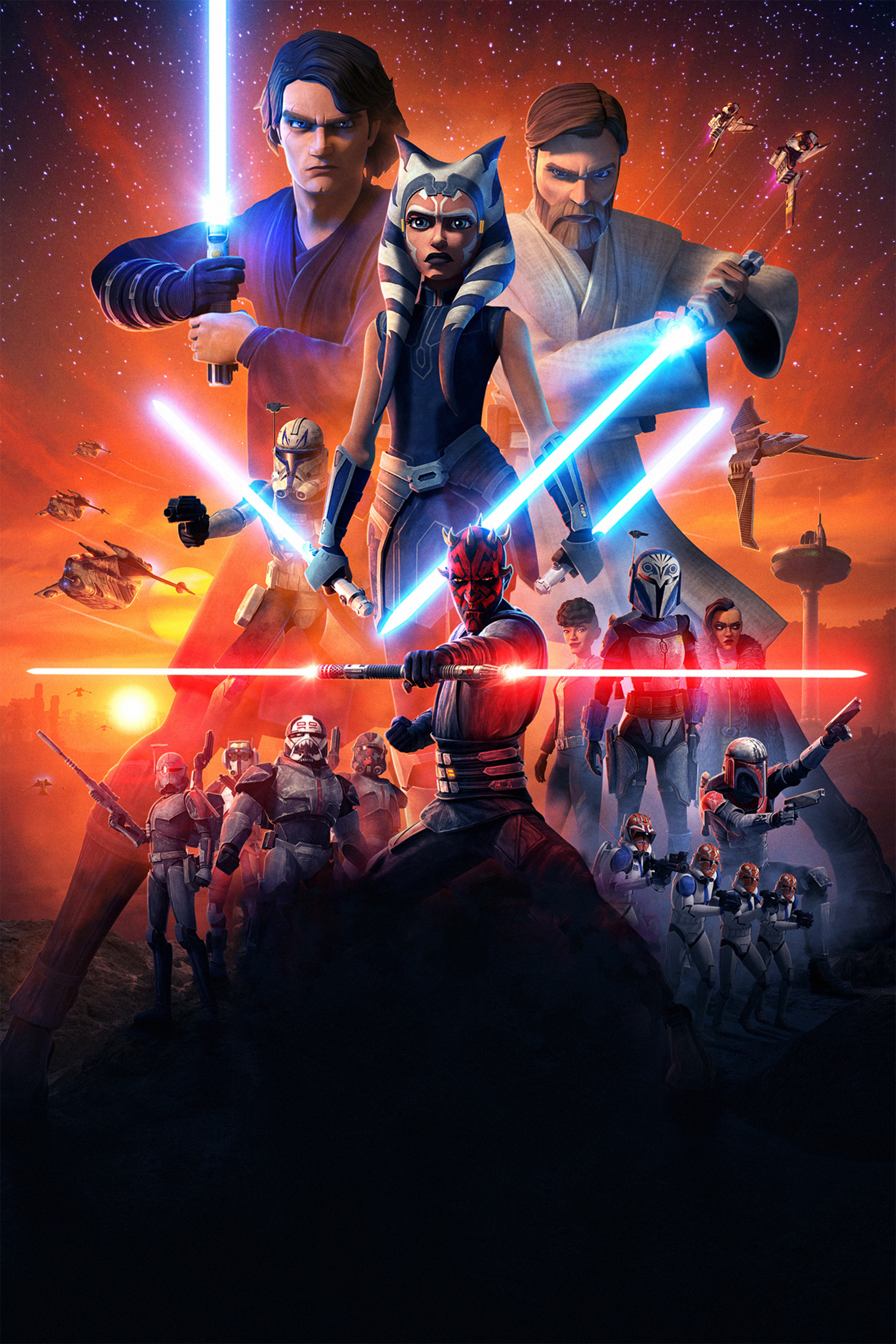 The Clone Wars 2020 Wallpaper Hd Tv Series 4k Wallpapers Images
