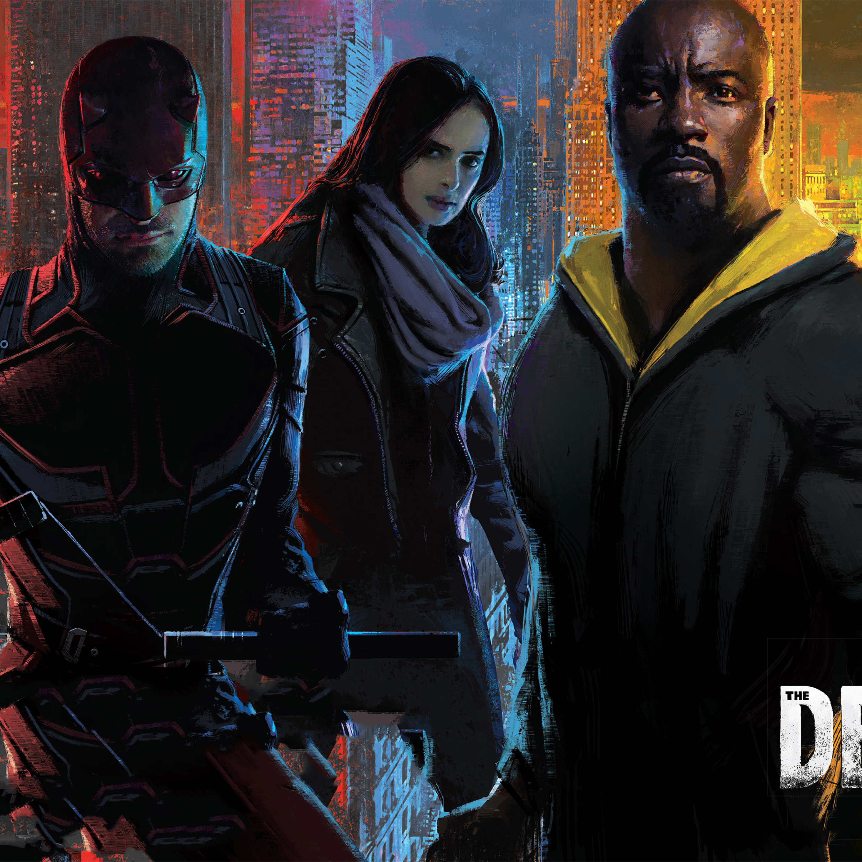 The Defenders Tv Show, Full HD 2K Wallpaper