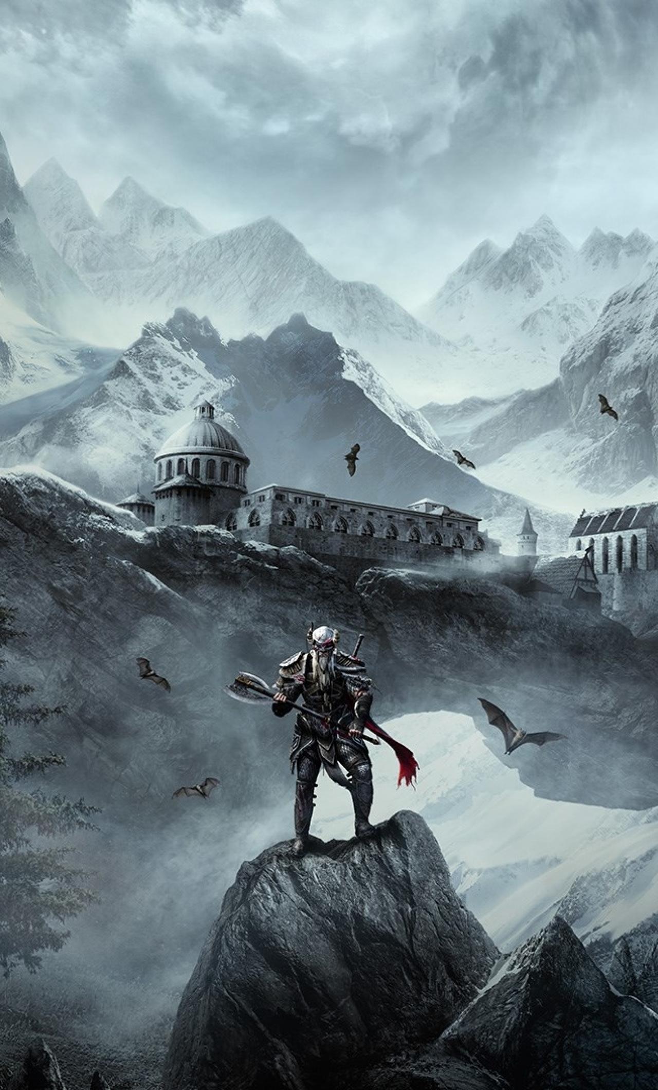 1280x2120 The Elder Scrolls Online Greymoor iPhone 6 plus ...