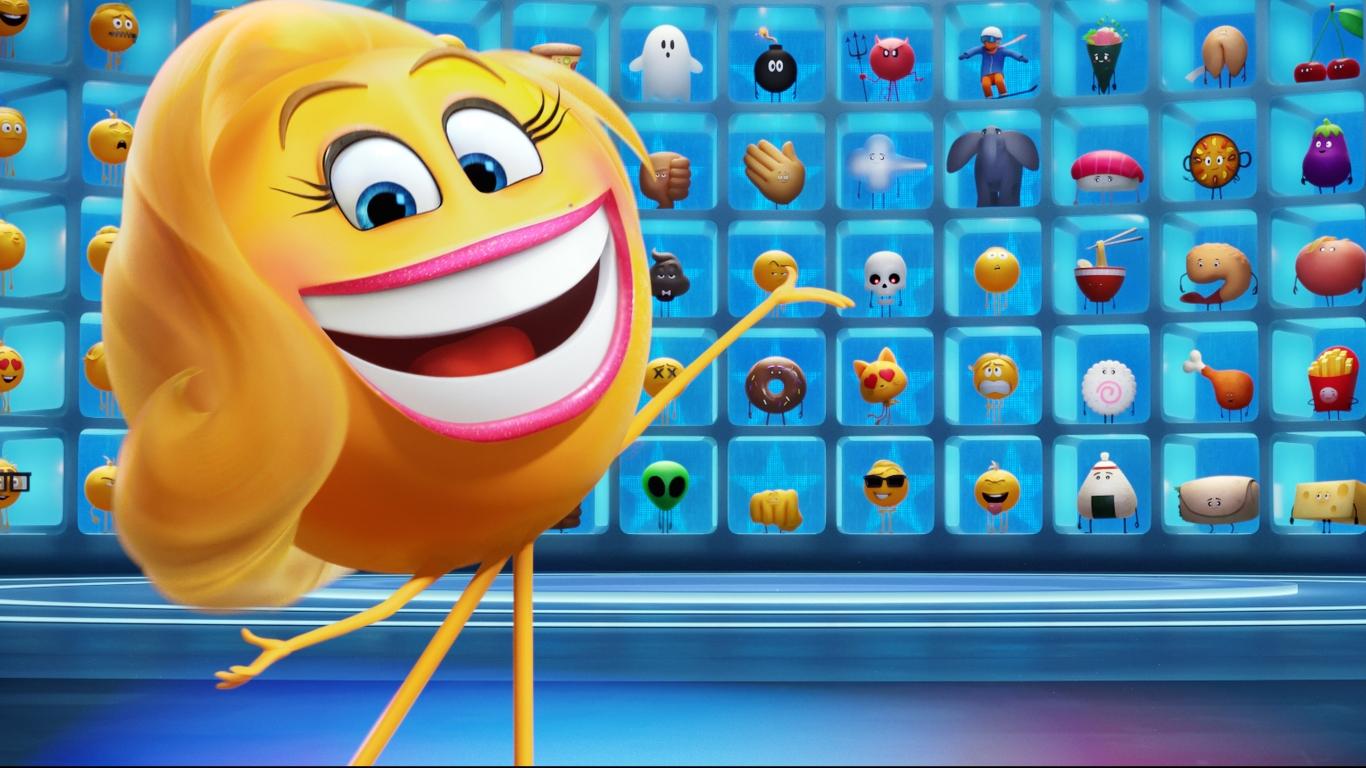 The Emoji Movie 2017 HD 8K Wallpaper
