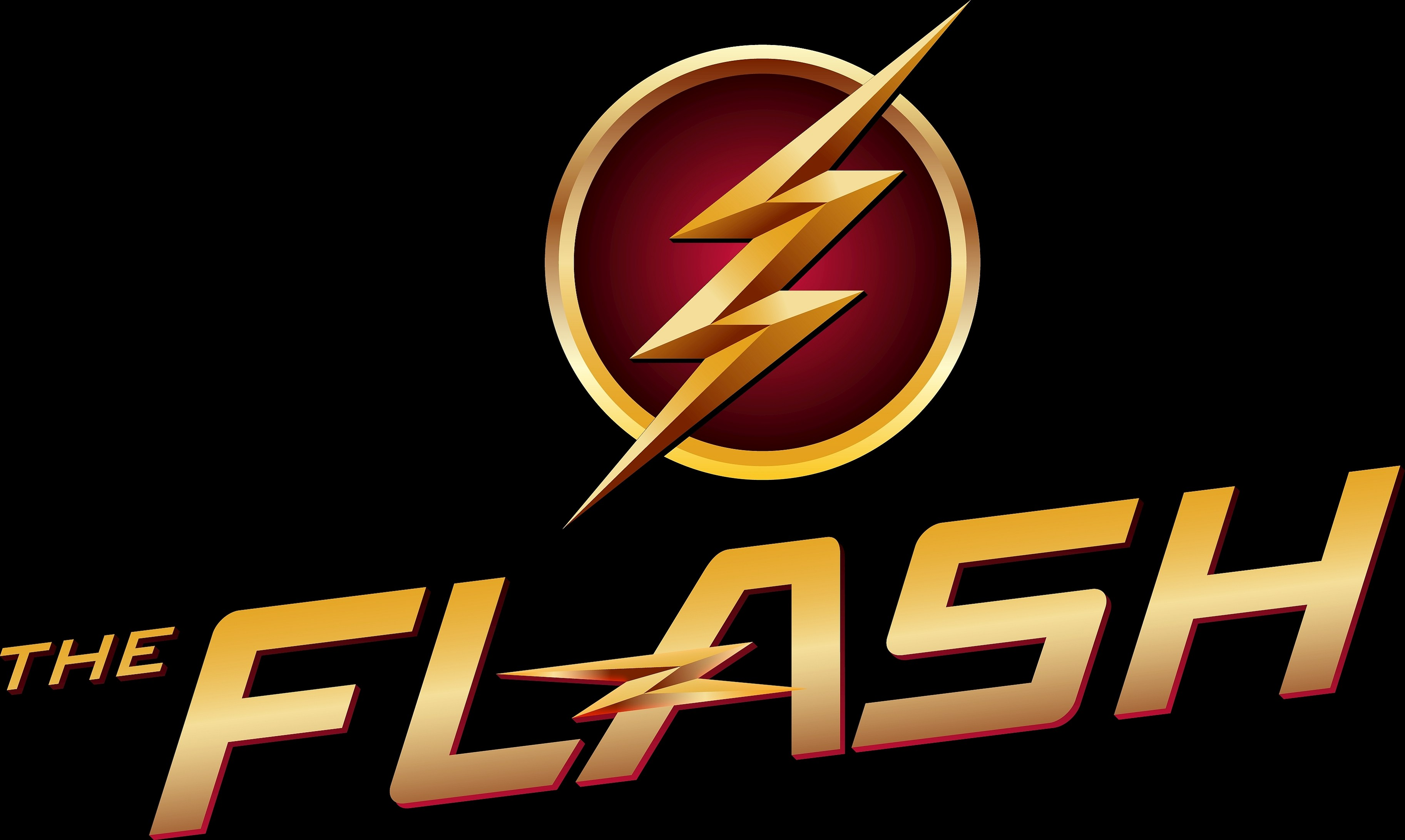 The flash logo hd 4k wallpaper - Tv series wallpaper 4k ...