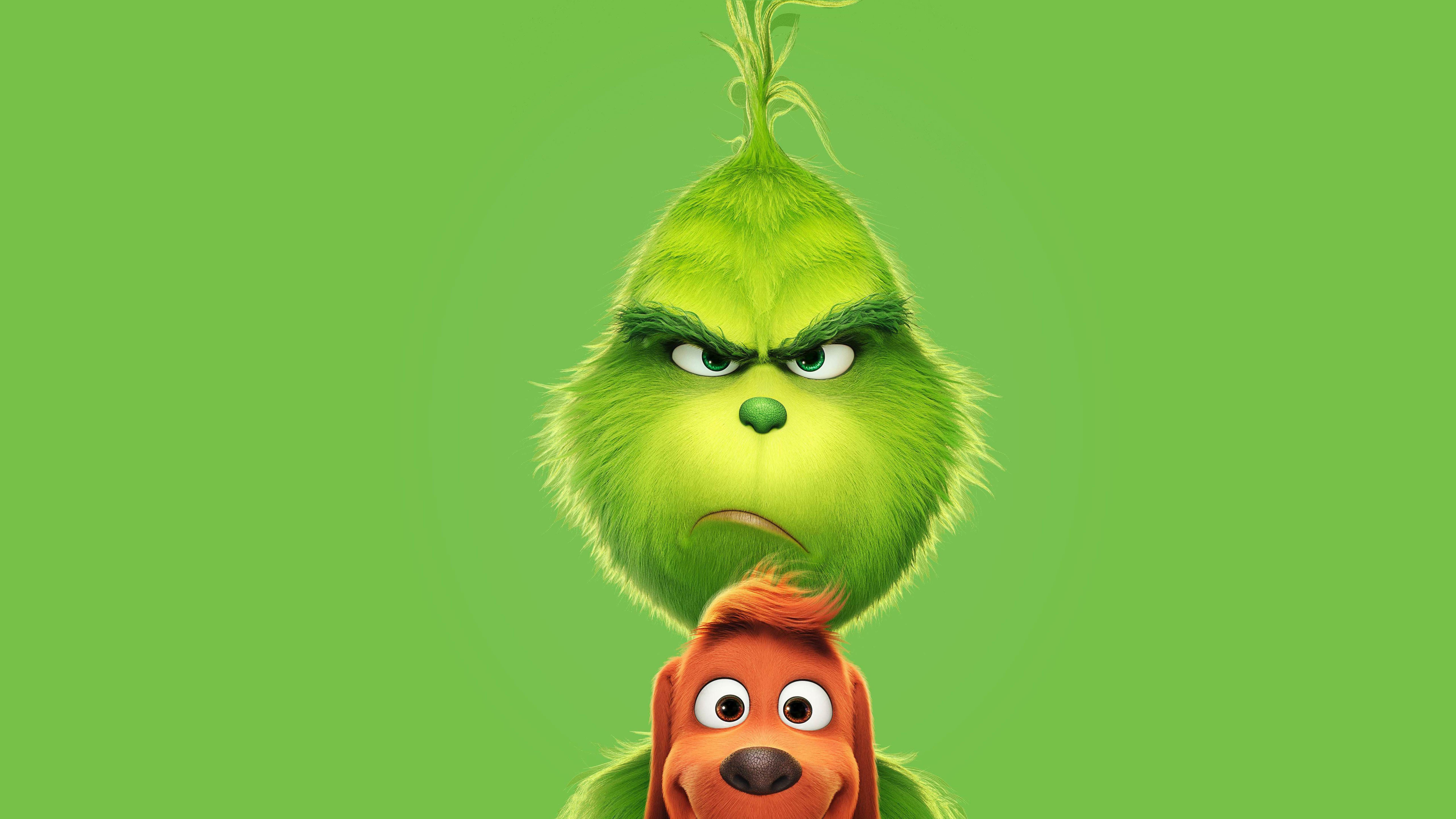 The Grinch 2018 Poster Hd 4k Wallpaper