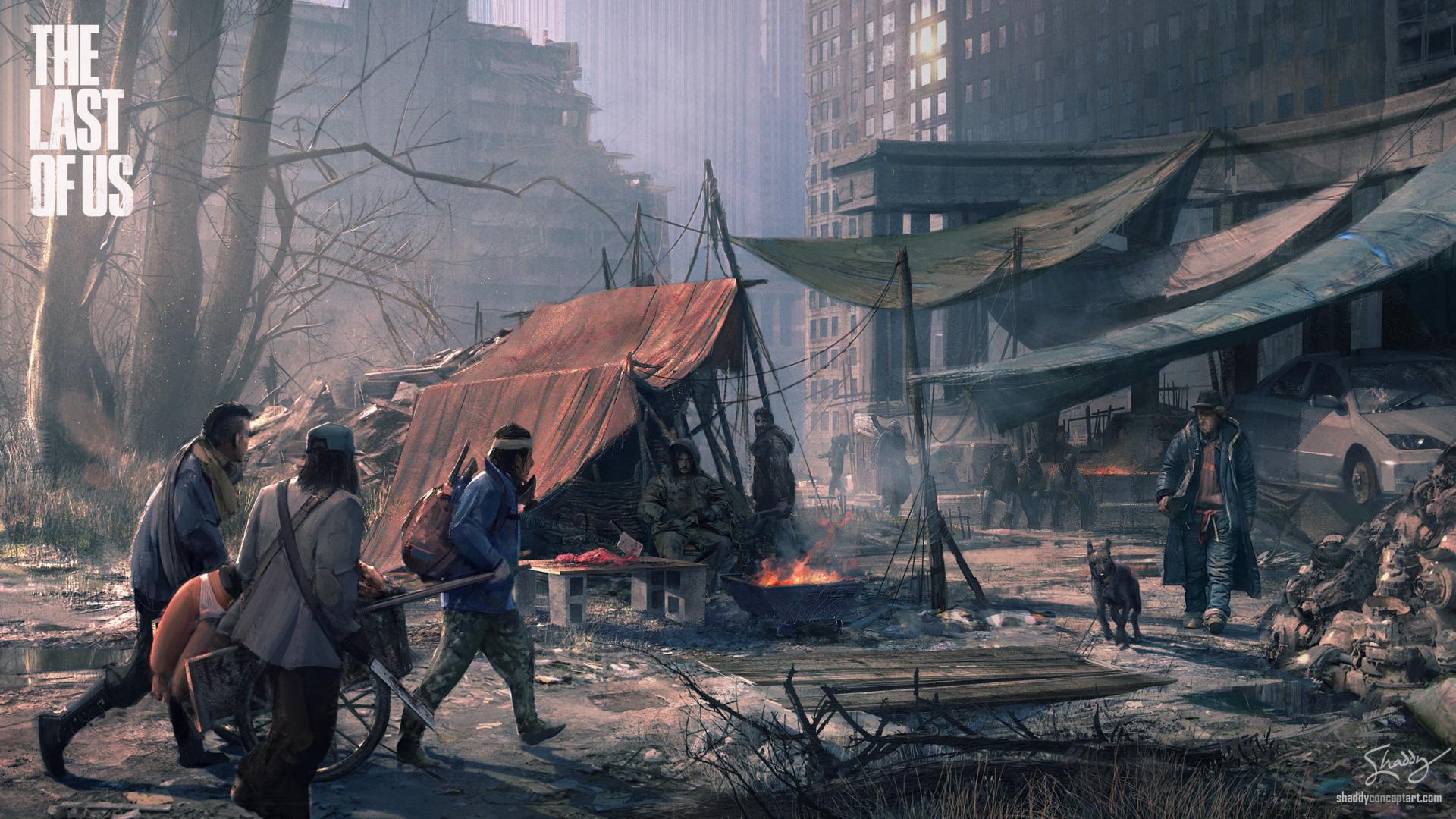 1920x1080 The Last Of Us City Doomsday 1080p Laptop Full Hd
