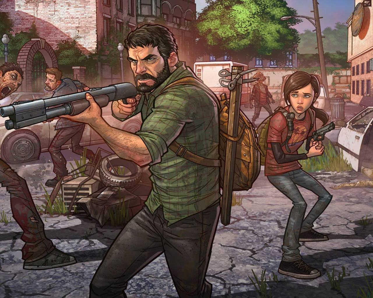 1280x1024 The Last Of Us Remastered Patrick Brown Art 1280x1024