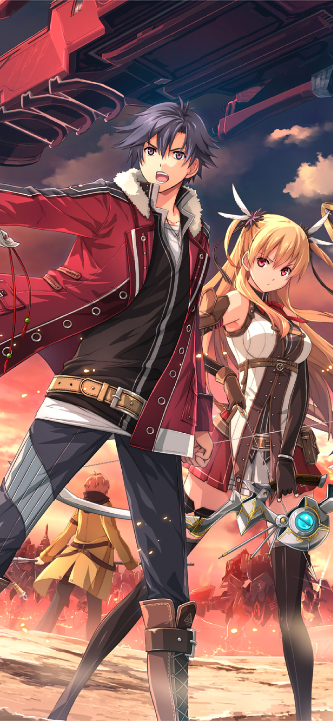 1125x2436 The Legend Of Heroes Trails Of Cold Steel Ii Iphone Xs