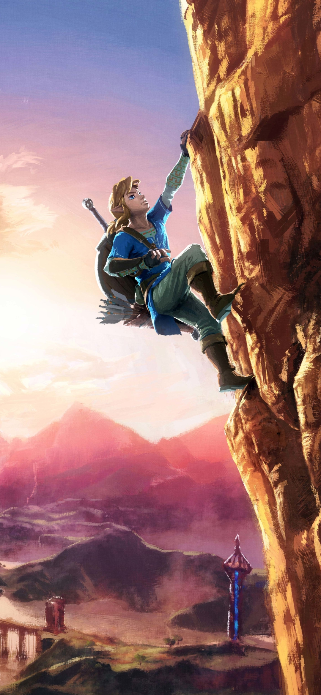 1080x2340 The Legend Of Zelda Breath Of The Wild 8k 1080x2340
