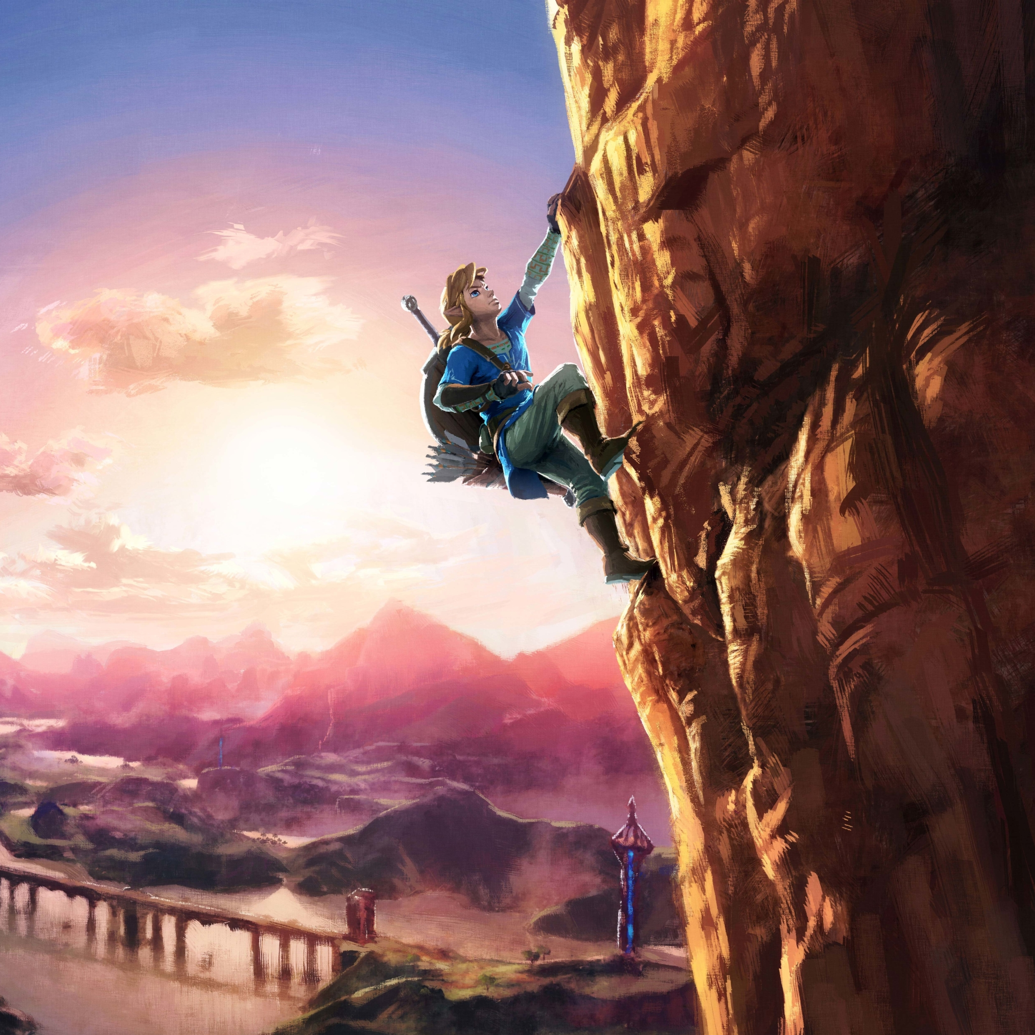 2048x2048 The Legend Of Zelda Breath Of The Wild 8k Ipad Air