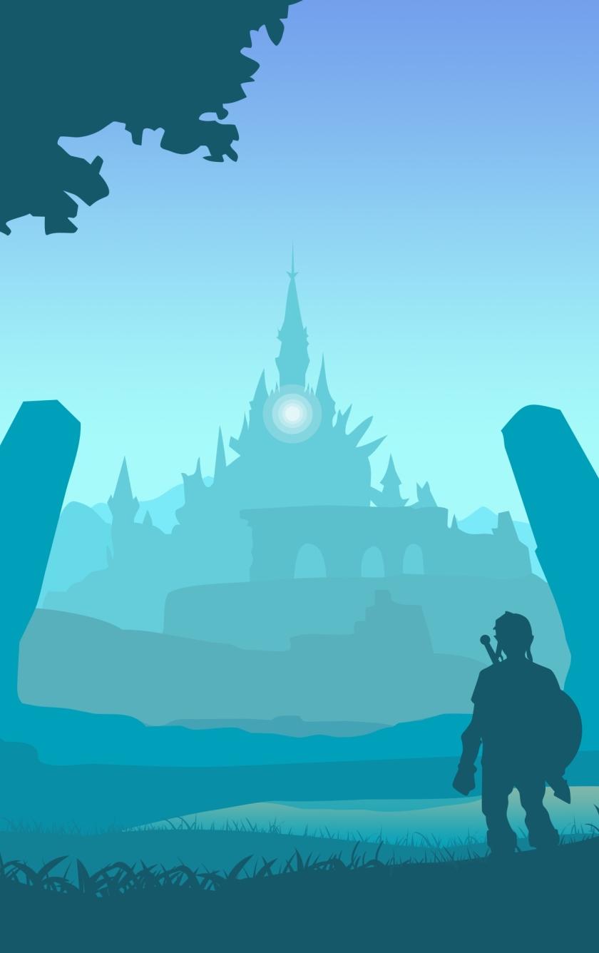 Download The Legend Of Zelda Breath Wild Art 840x1336