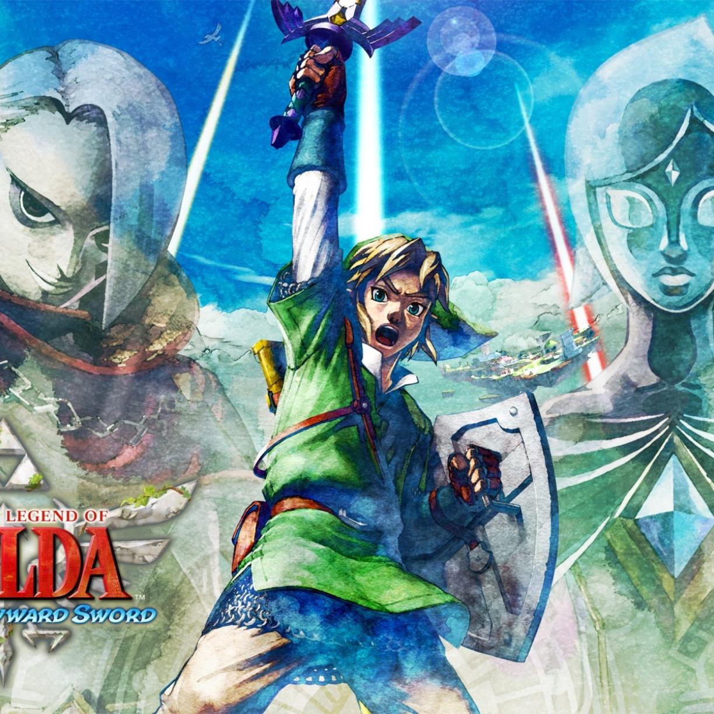 1224x1224 The Legend Of Zelda Skyward Sword Nintendo Ead Legend