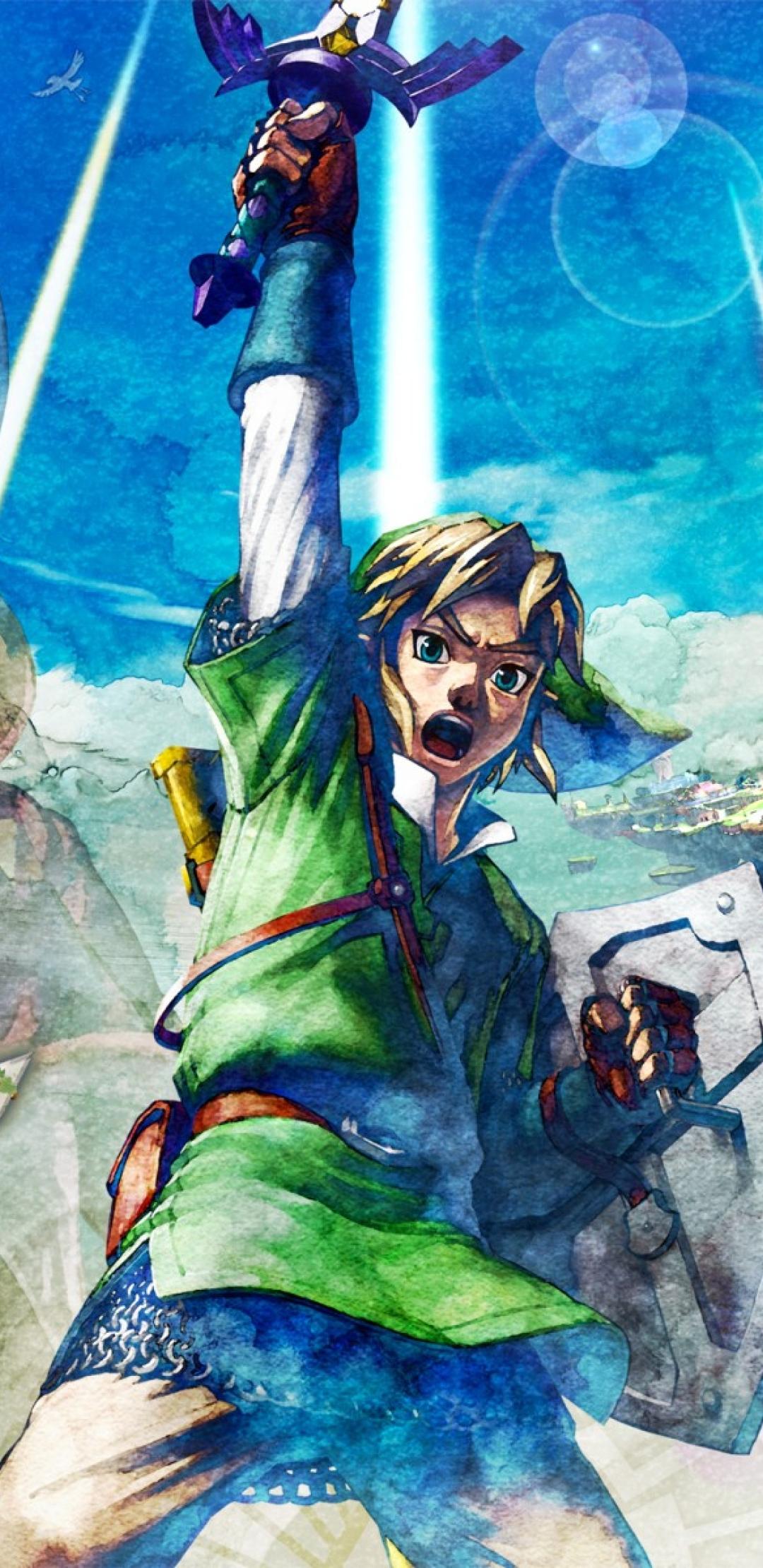 1080x2220 The Legend Of Zelda Skyward Sword Nintendo Ead Legend