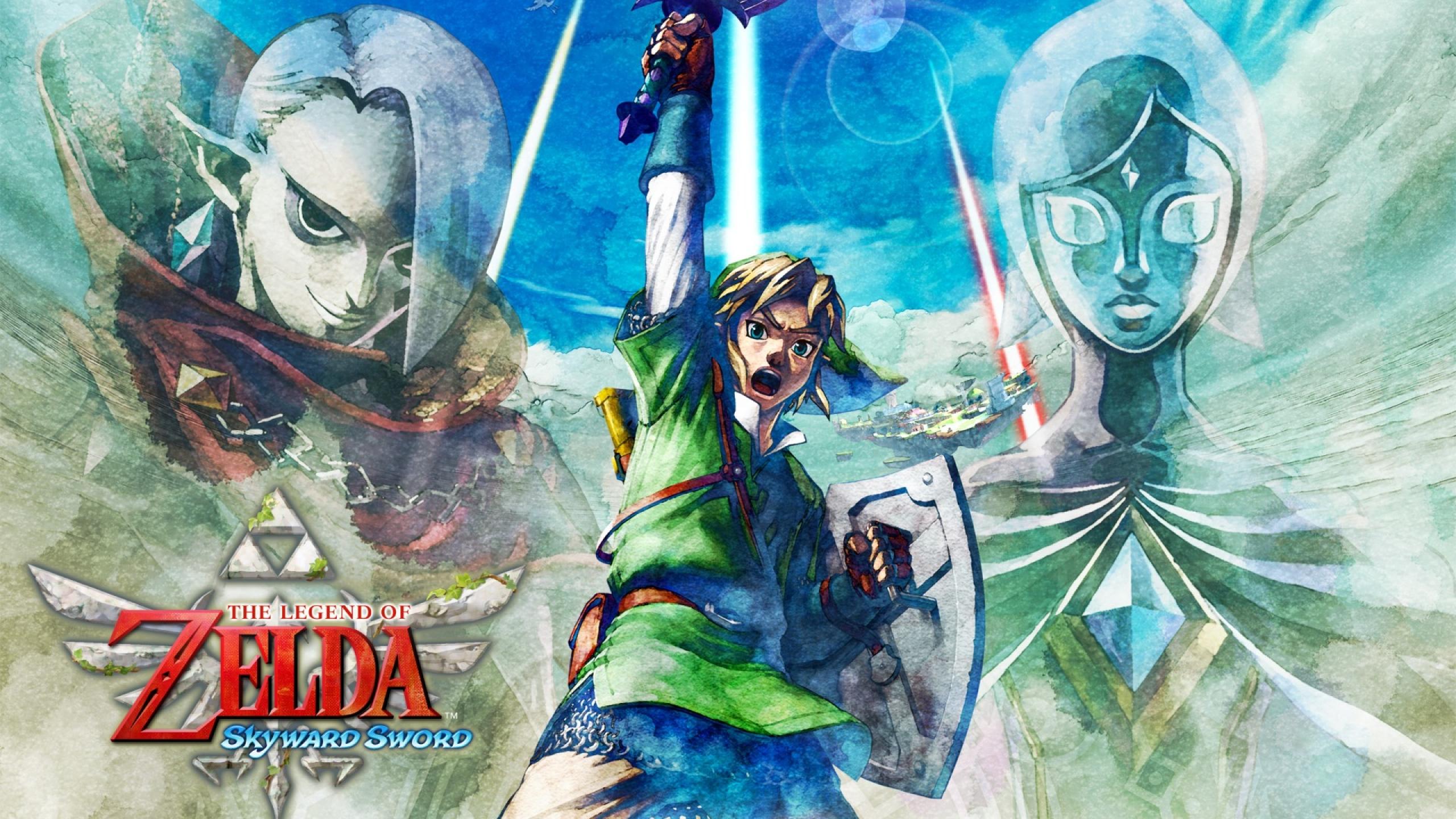 2560x1440 The Legend Of Zelda Skyward Sword Nintendo Ead Legend
