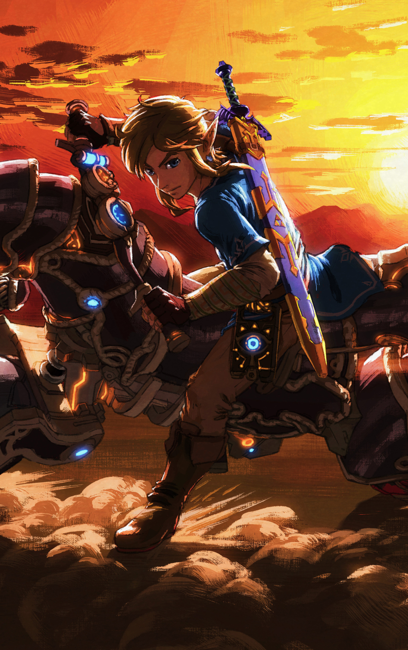 The Master Cycle Zero Legend Of Zelda Breath Wild HD 8K