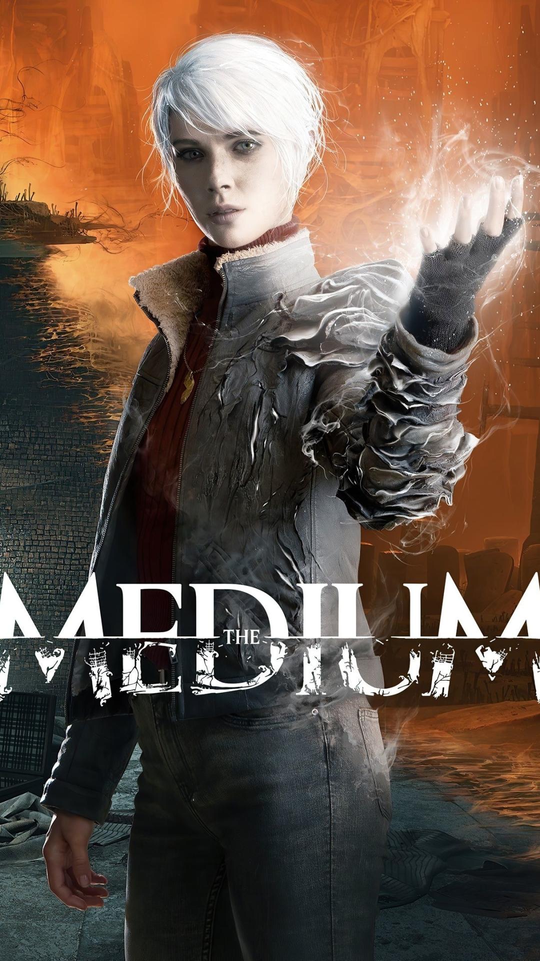 The Medium Poster 4K Wallpaper in 1080x1920 Resolution