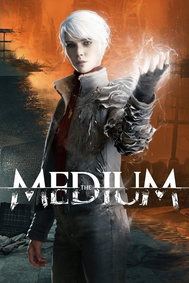 The Medium Poster 4K Wallpaper in 640x960 Resolution