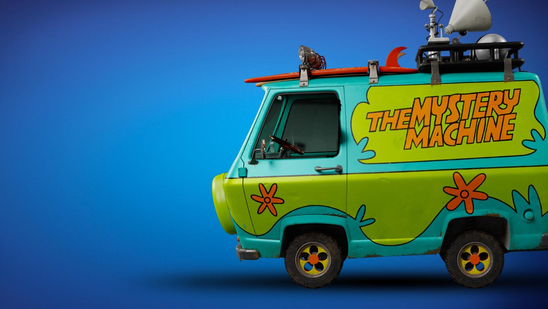 1360x768 The Mystery Machine Van Scooby Doo Desktop Laptop ...