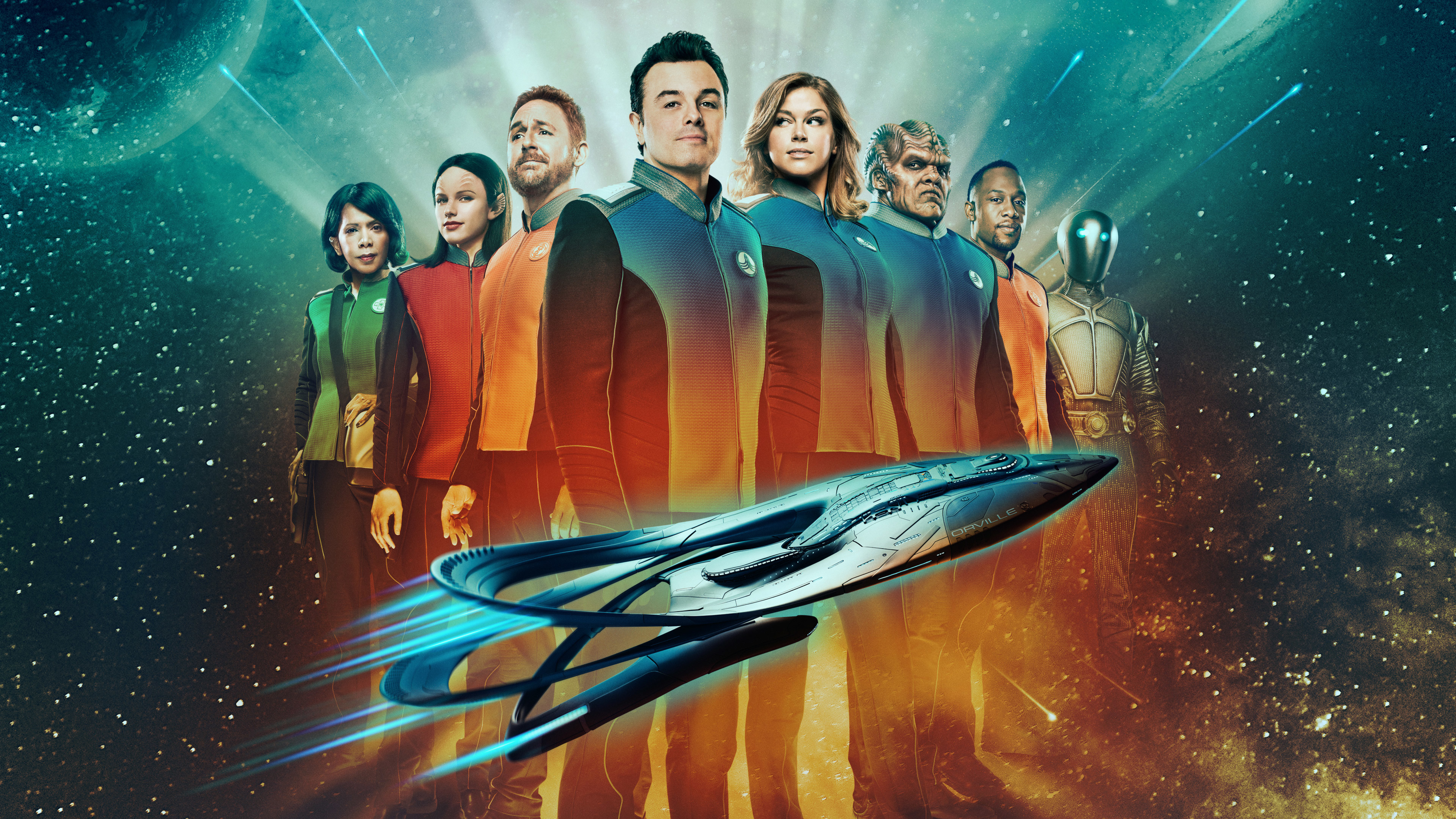 The orville hd 4k wallpaper - Tv series wallpaper 4k ...