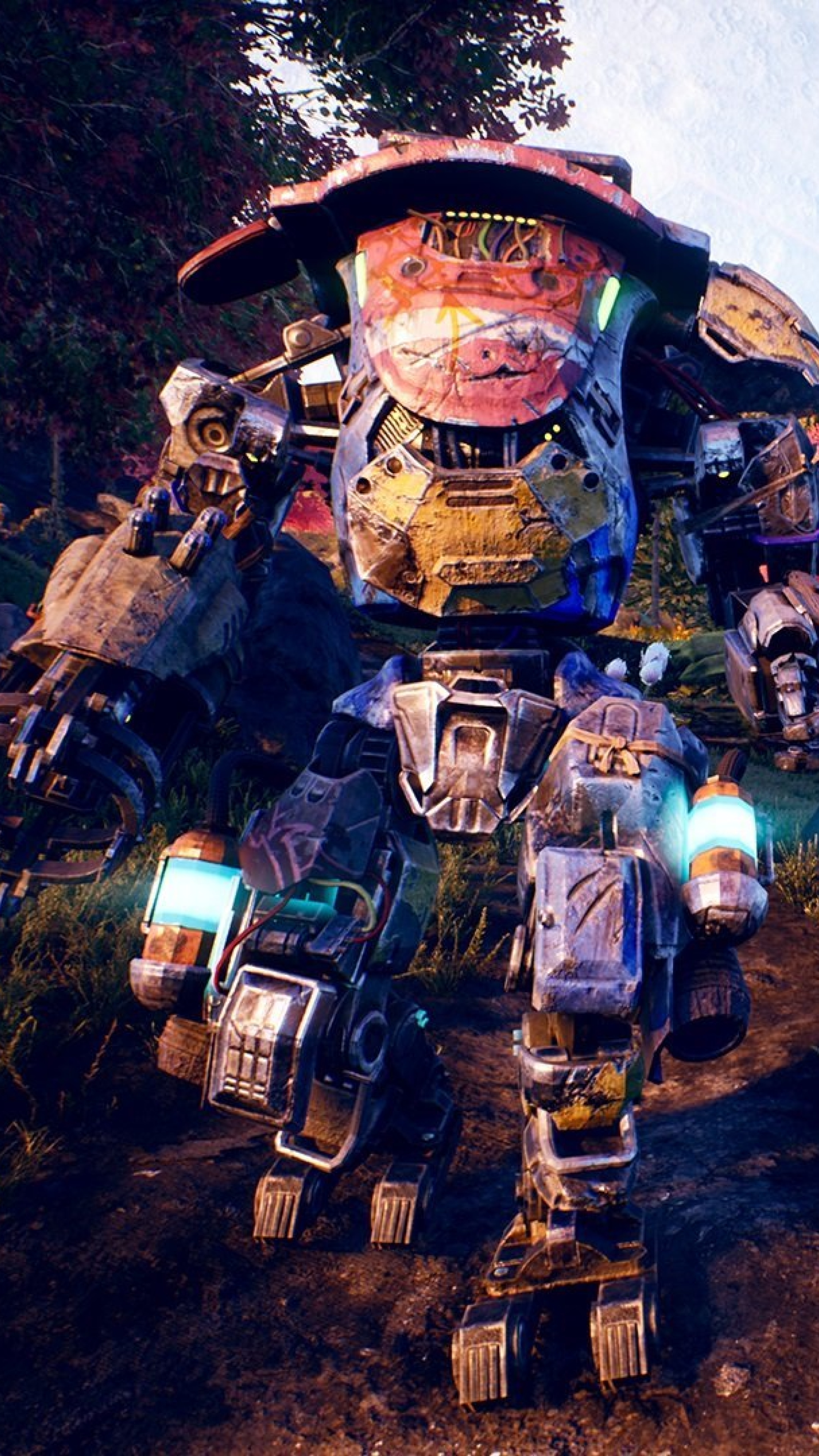 2160x3840 The Outer Worlds Game Sony Xperia X,XZ,Z5 ...