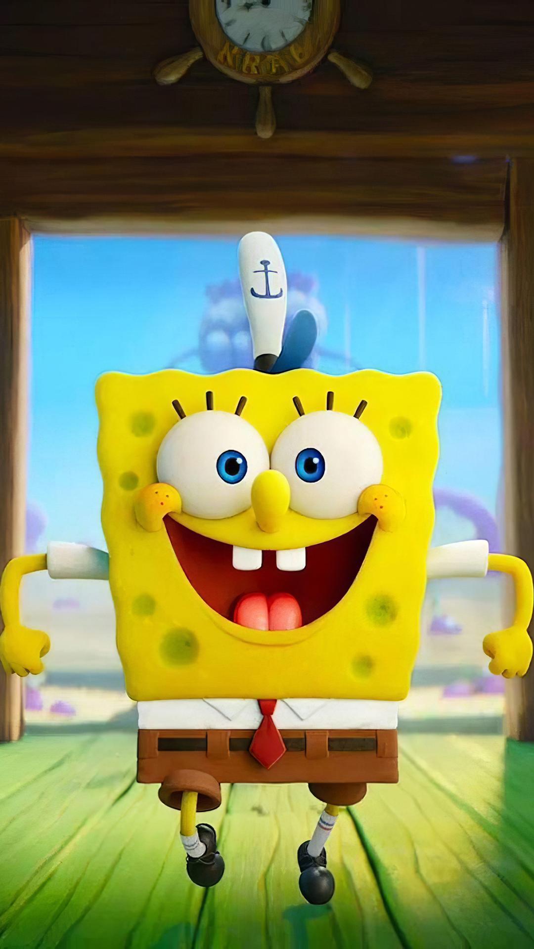 1080x1920 The SpongeBob Movie 4K Iphone 7, 6s, 6 Plus and ...