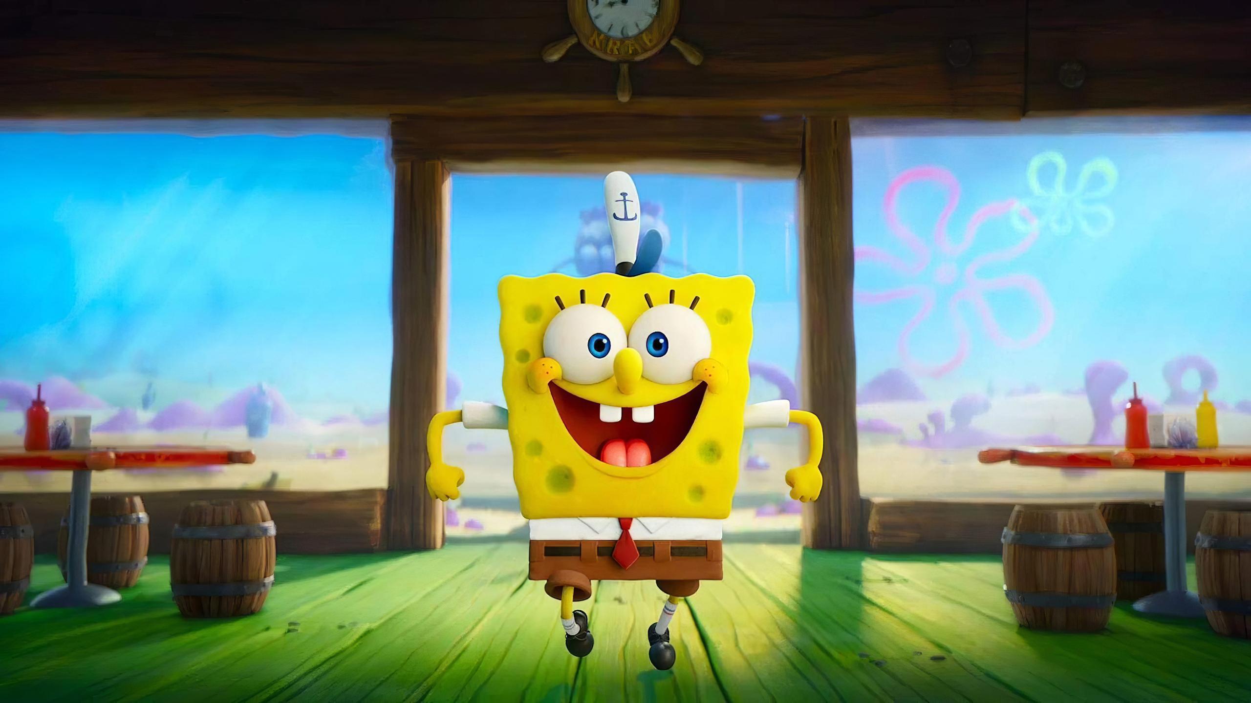 2560x1440 The SpongeBob Movie 4K 1440P Resolution ...