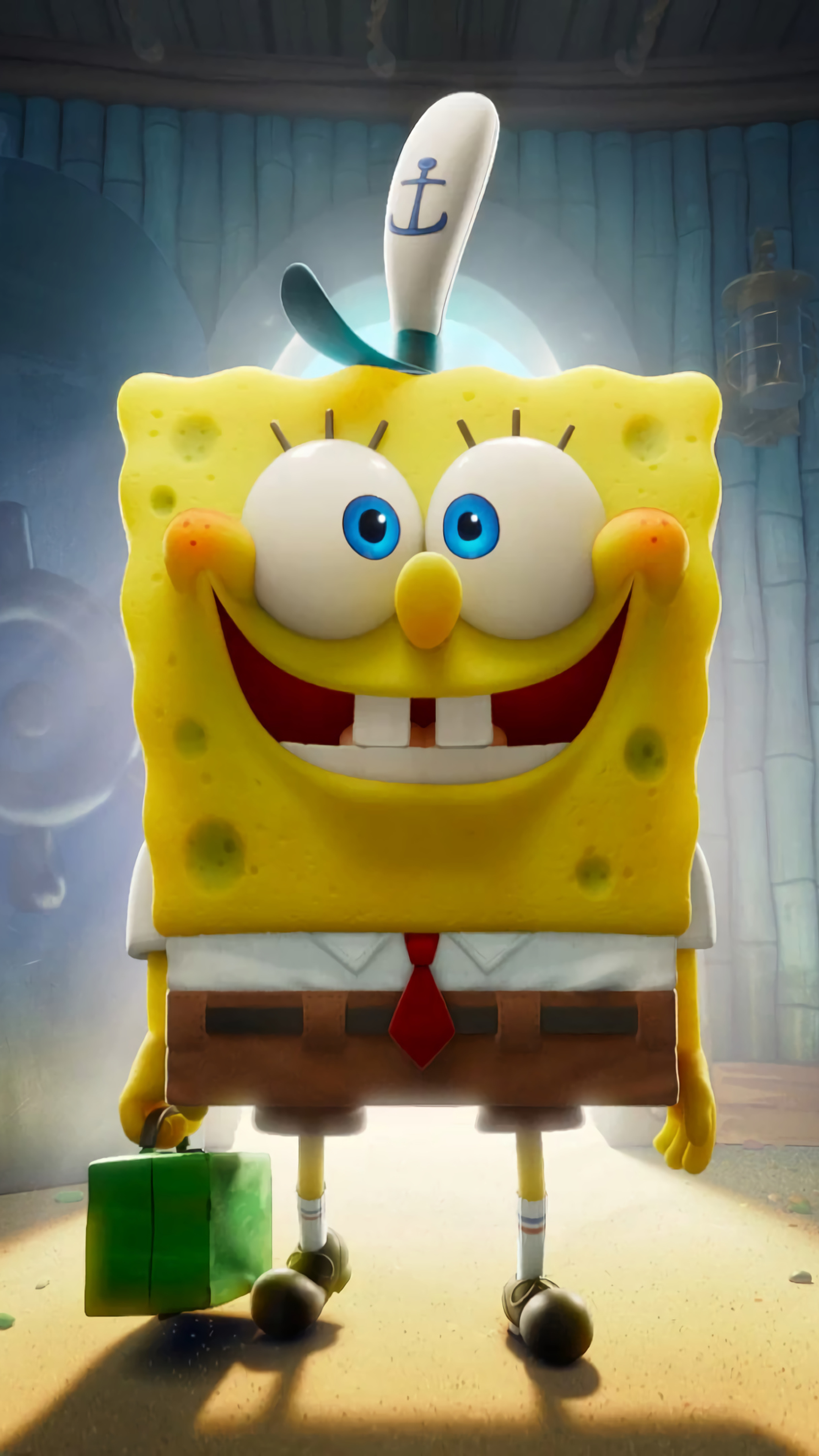 3d Wallpaper 2020 Spongebob Doraemon