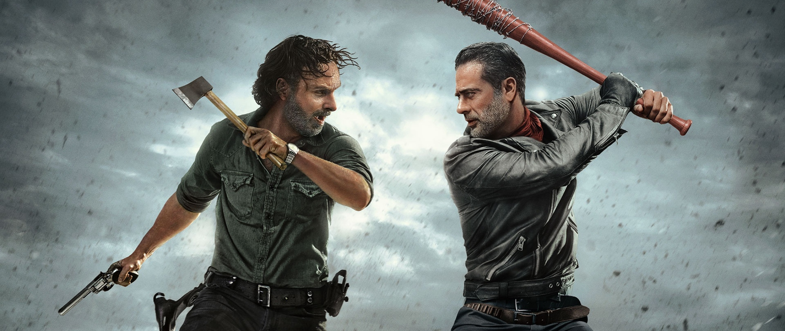 The Walking Dead Andrew Lincoln And Jeffrey Dean Morgan