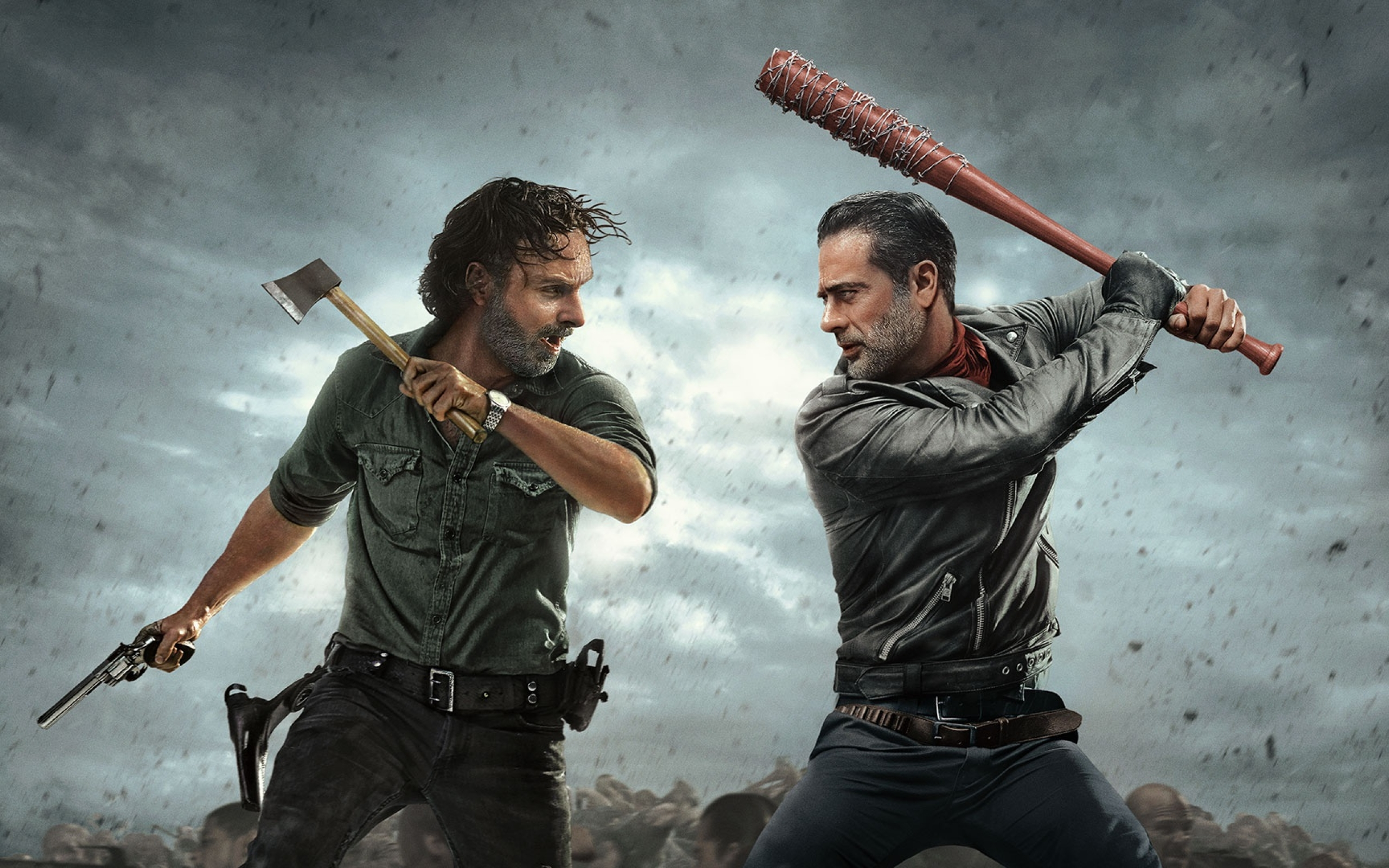 The Walking Dead Andrew Lincoln And Jeffrey Dean Morgan ...