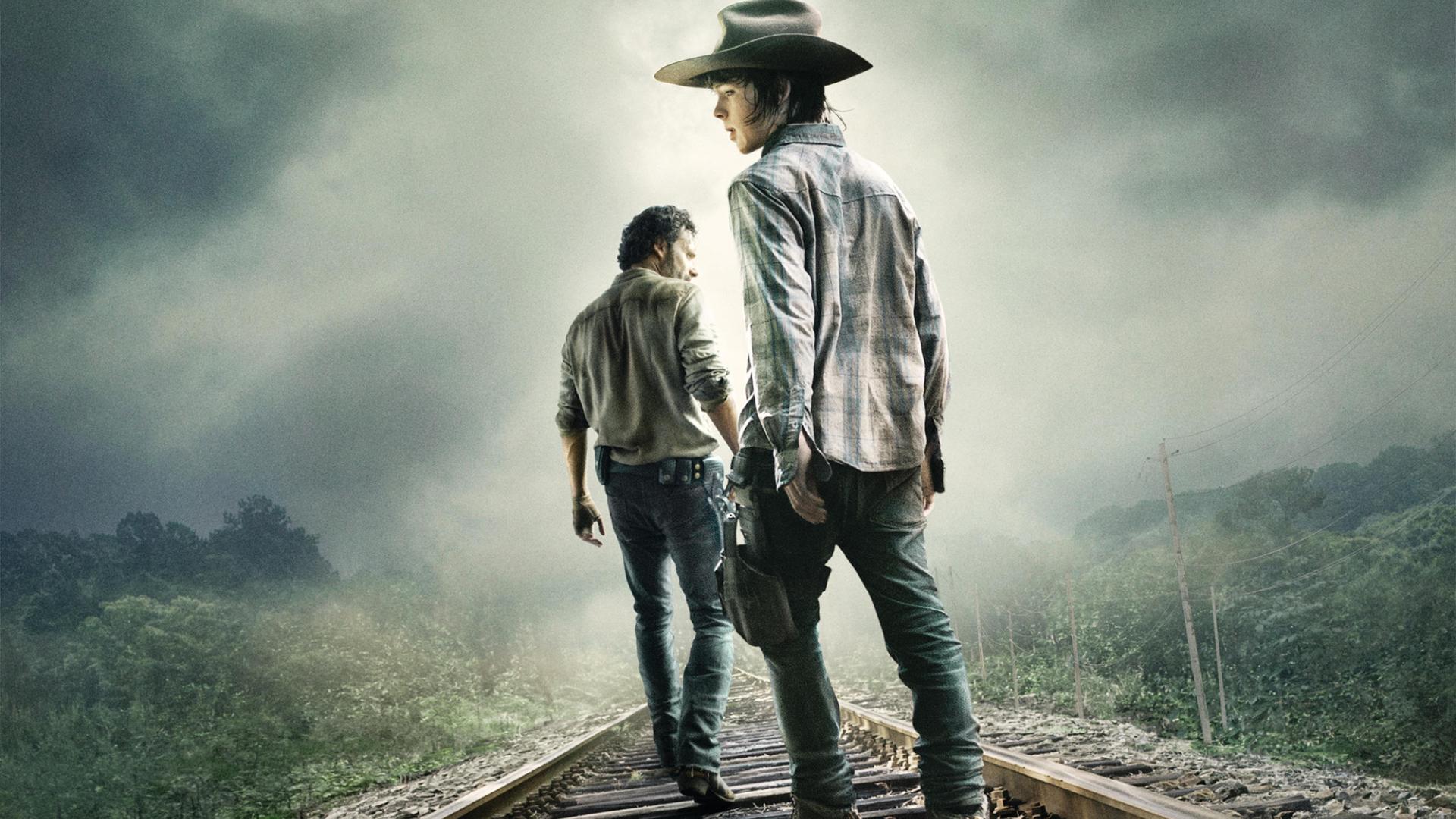 Download The Walking Dead Rick Grimes Carl 1680x1050