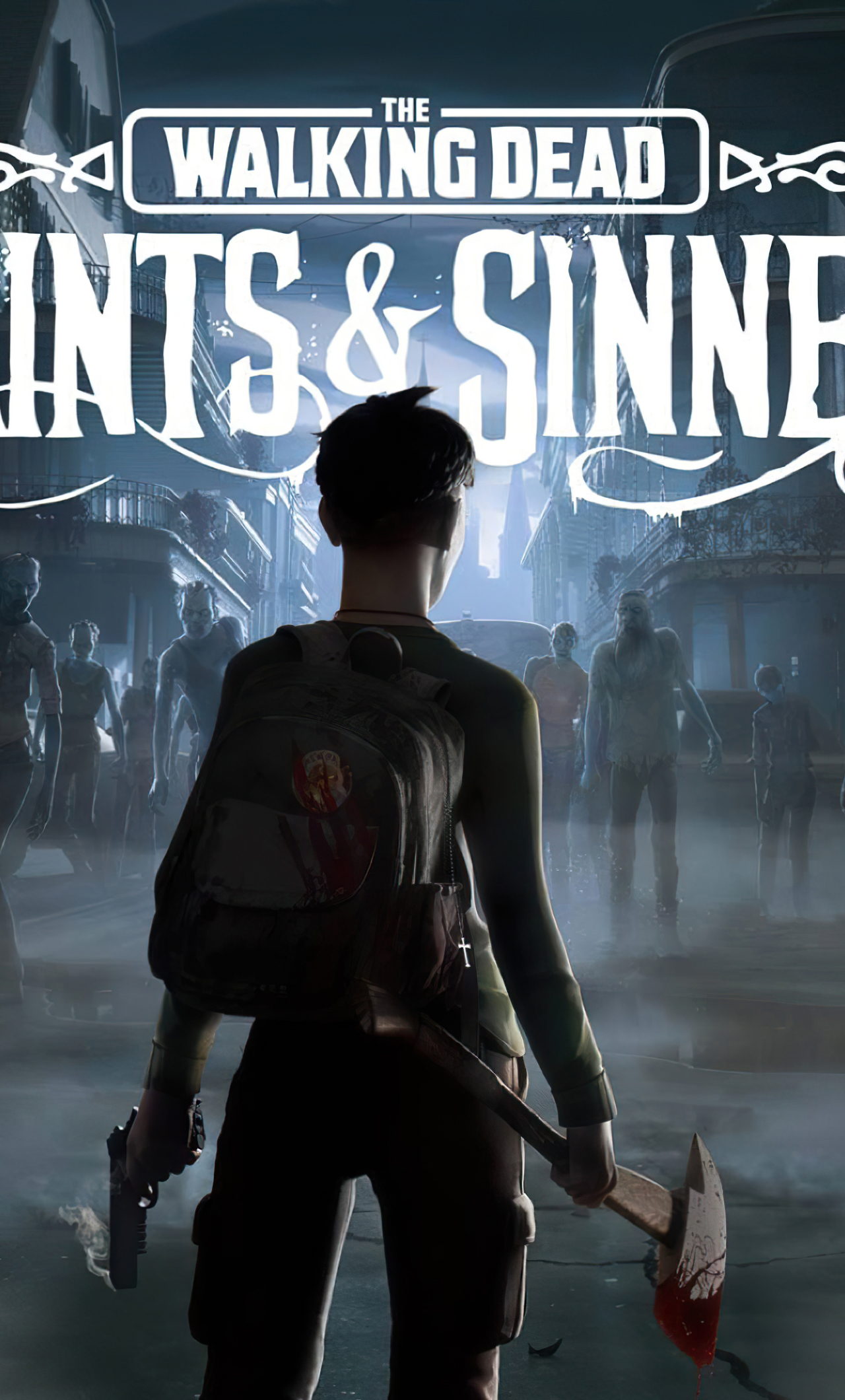 1280x2120 The Walking Dead Saints And Sinners iPhone 6 ...