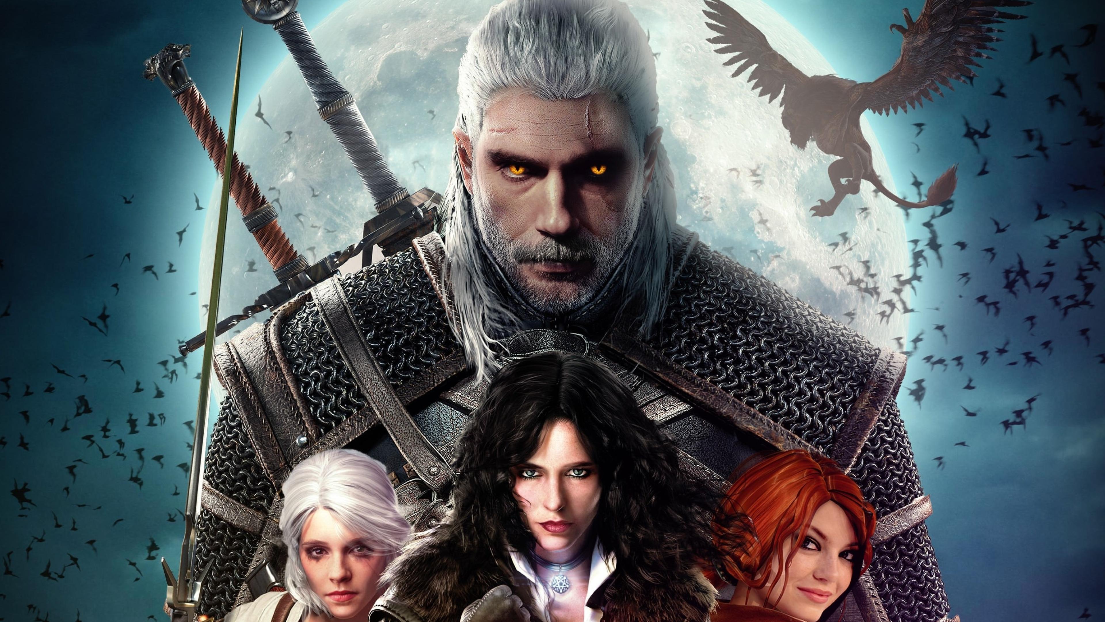 3840x2160 The Witcher 2019 4K Wallpaper, HD Artist 4K ...